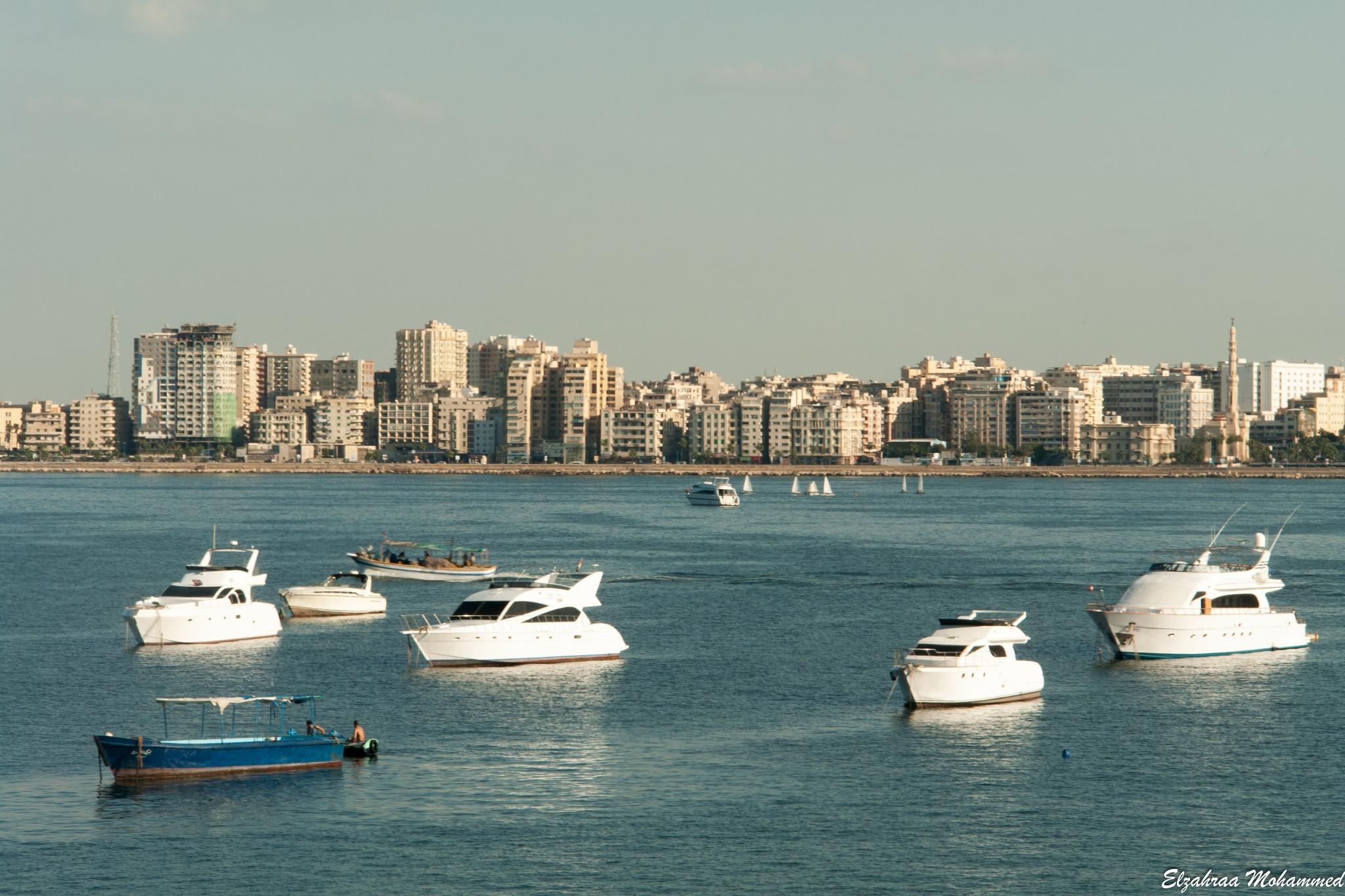 Alexandria ، Mediterranean's Bride by Elzahraa