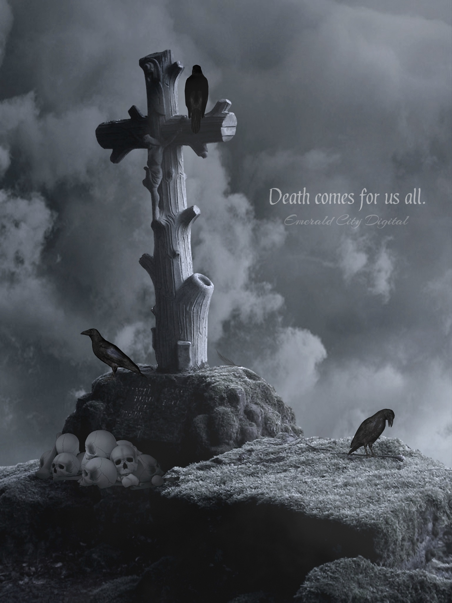 Death Comes For Us All by Emerald City Digital