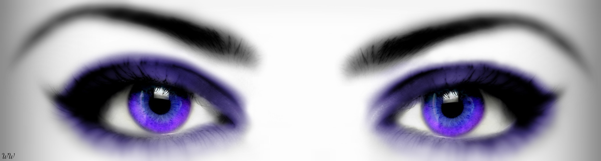 Ombre Eyes with Blur and Tilt/Shift by Emerald City Digital
