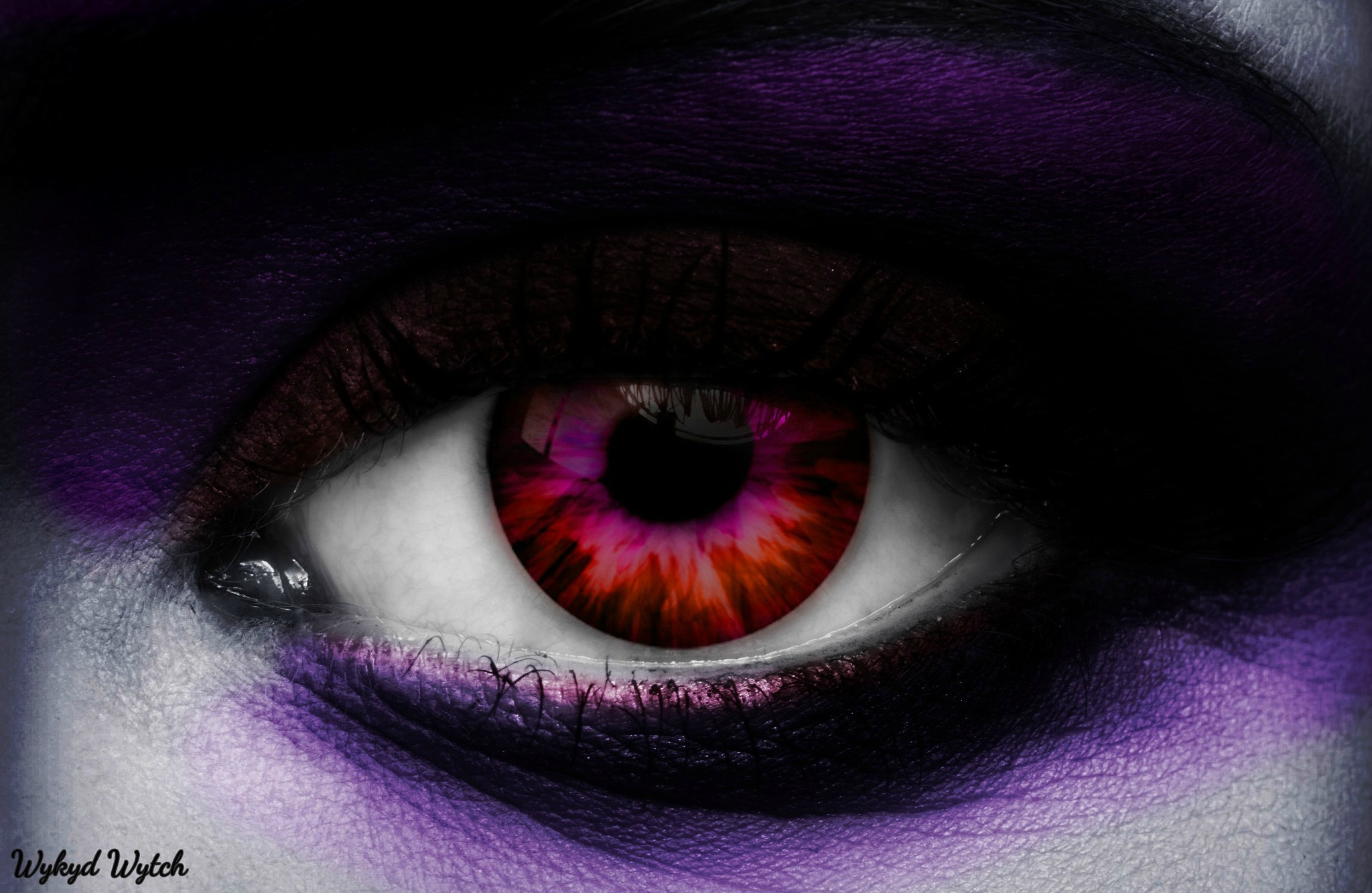 Dramatic Eye and Eye Makeup by Emerald City Digital