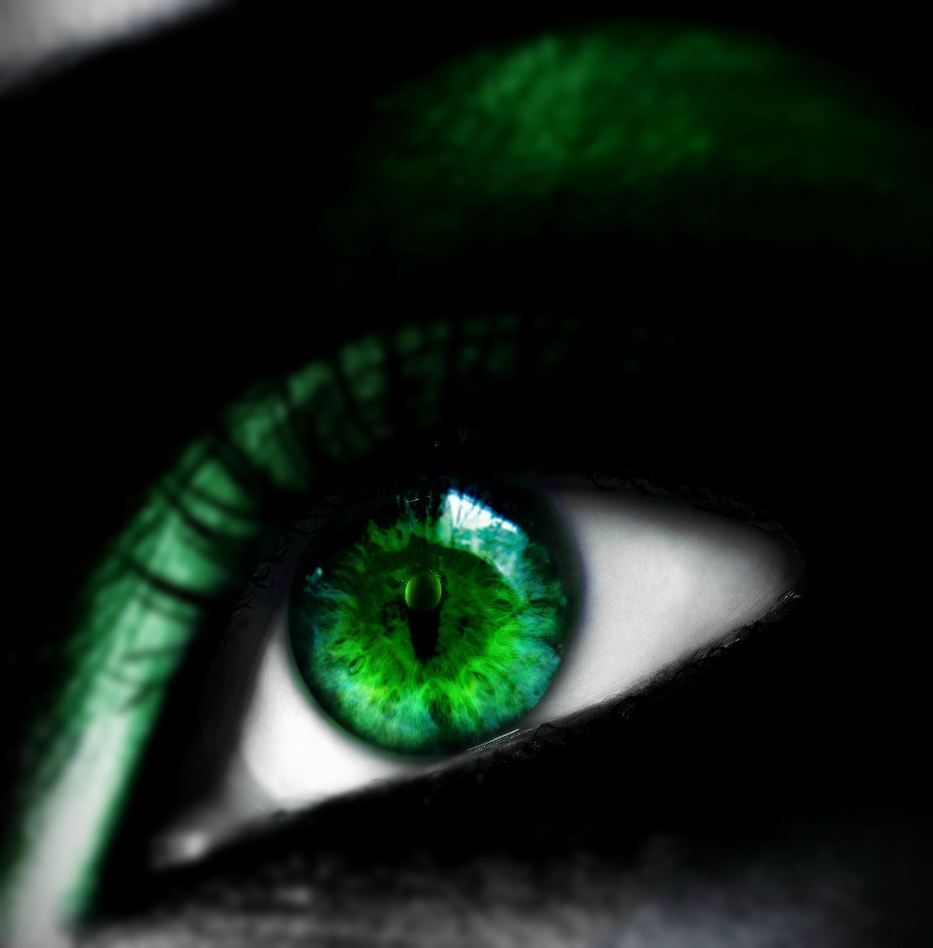Poison Ivy Eye by Emerald City Digital