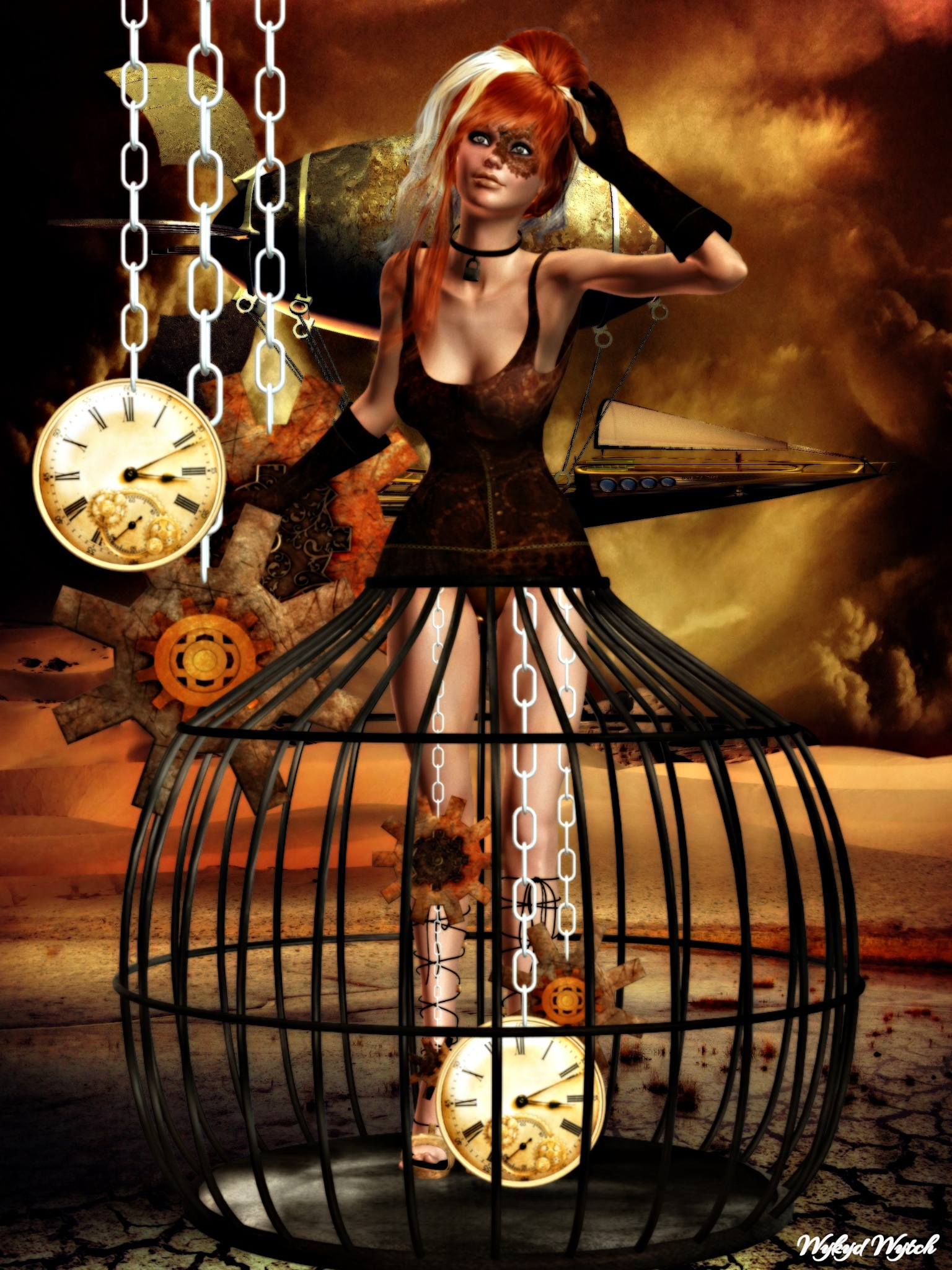 Steampunk (Clockwork) by Emerald City Digital