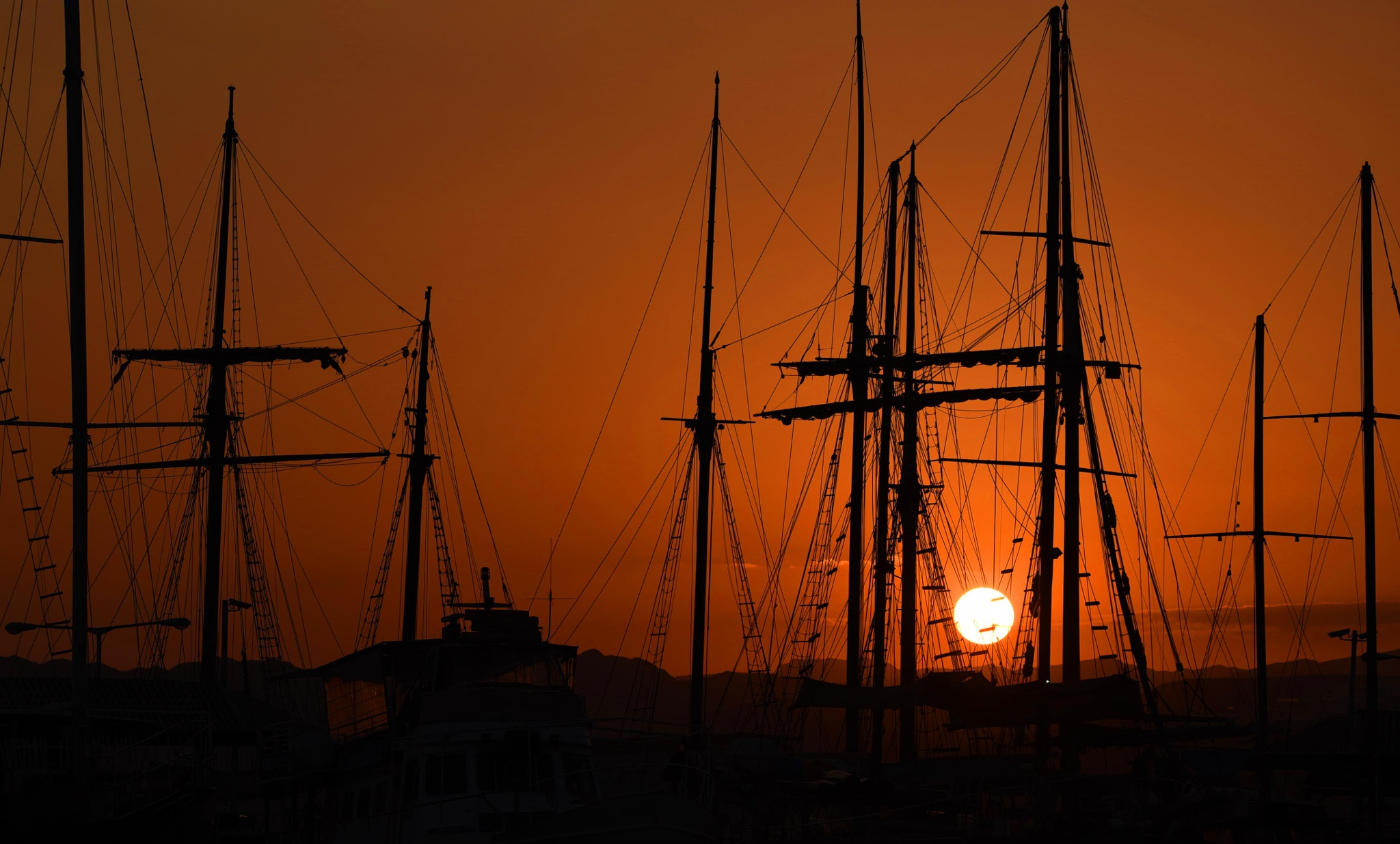 sunset in eilat by hananel hebe