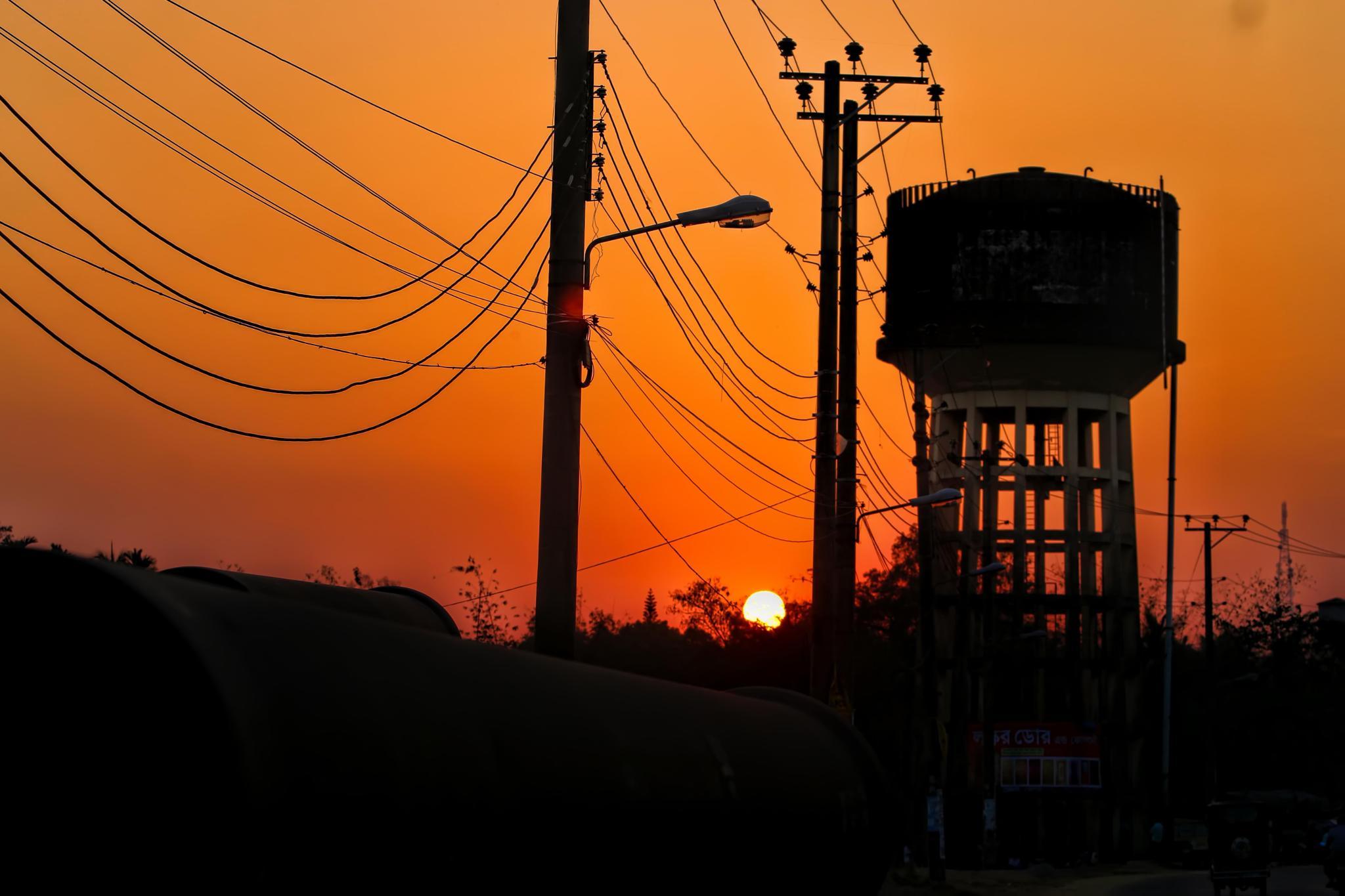 sunset  by Prince Tamim