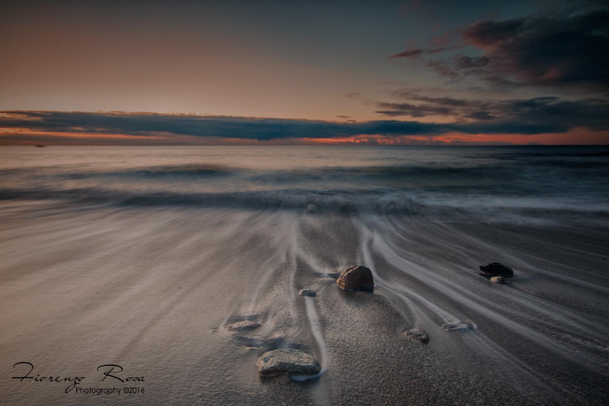 Paesaggio lunare by Fiorenzo Rosa
