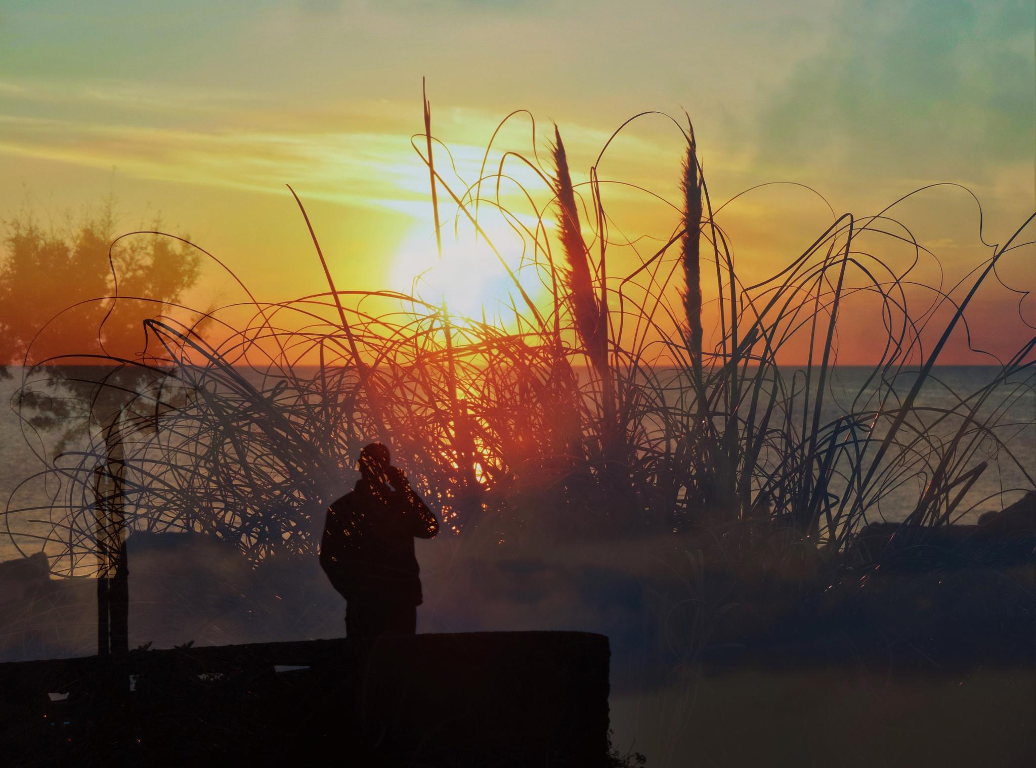 Photo in Film #hello #sunset #poldarkk #fusión