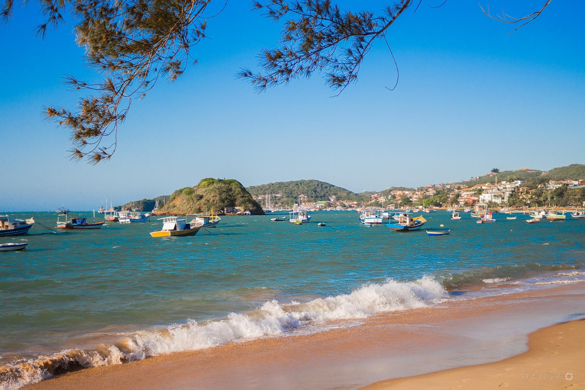 Praia do Canto - Buzios by Digão Saldanha