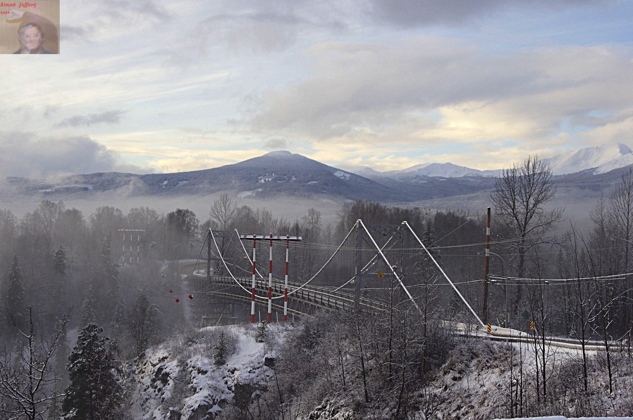 Hagwilget Bridge by Simon Jeffery