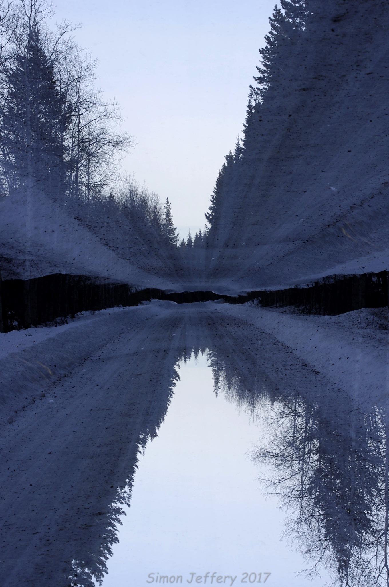 Double exposure by Simon Jeffery