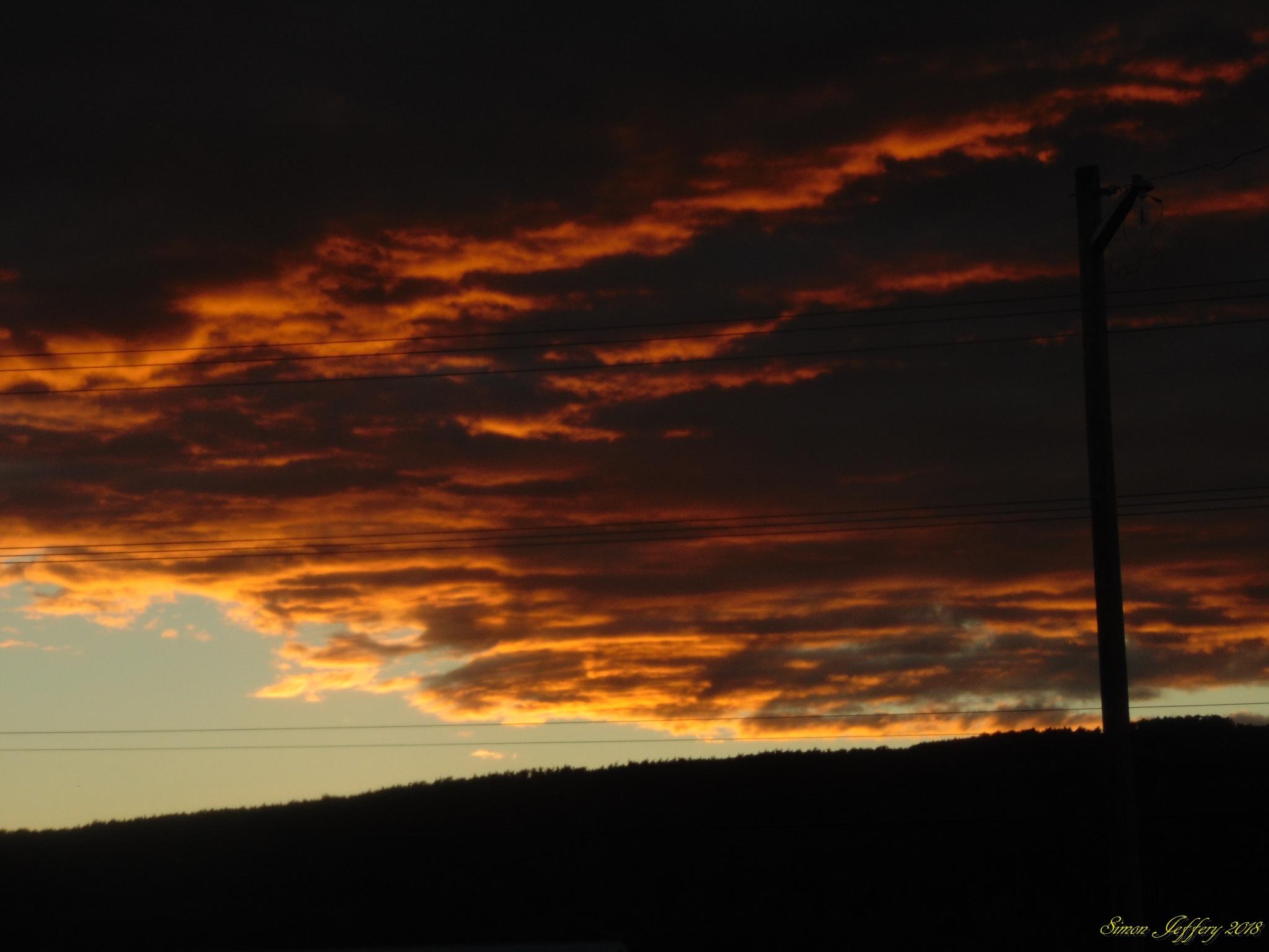 Sunset by Simon Jeffery