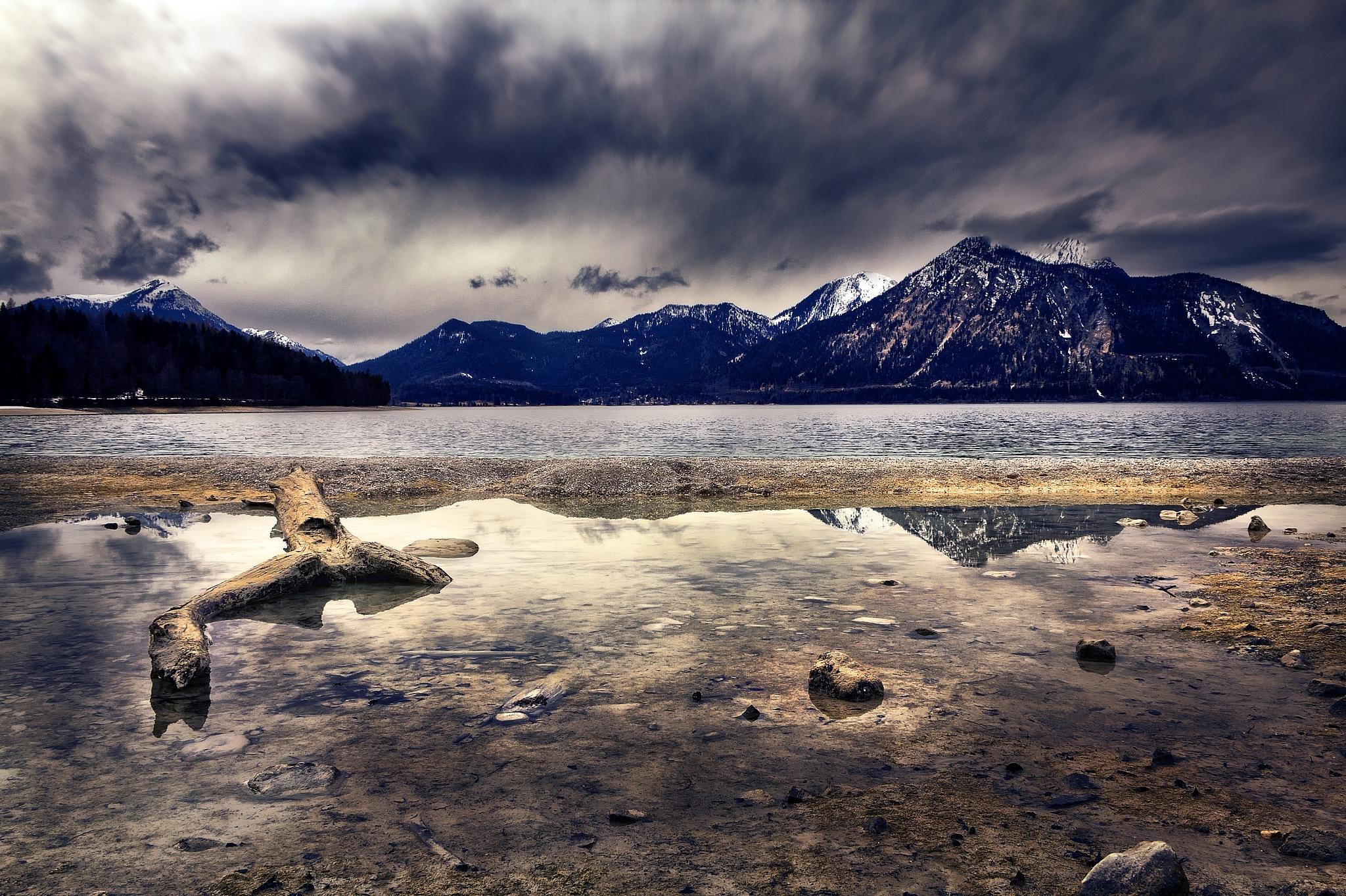 Walchensee by Michael Stapfer
