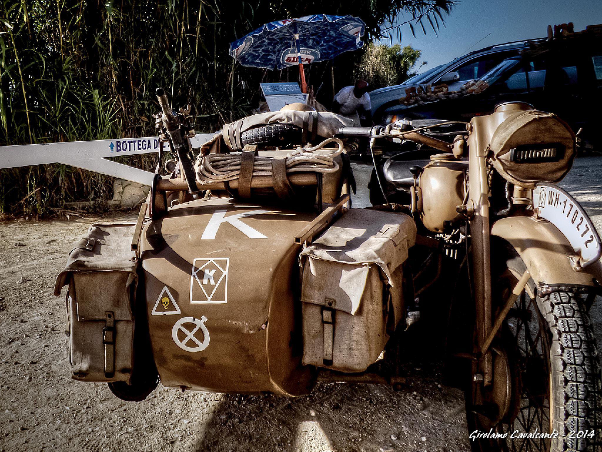 WW II Motorcycle by GiroPhoto - Girolamo Cavalcante