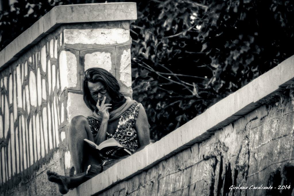 reading by GiroPhoto - Girolamo Cavalcante