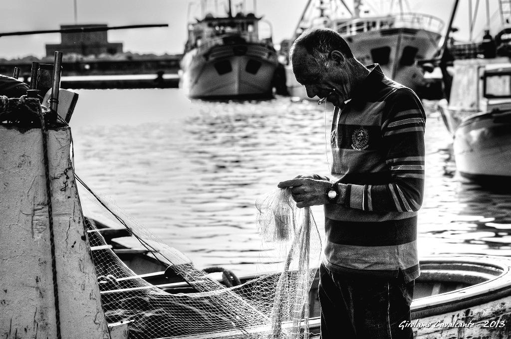 Pescatore by GiroPhoto - Girolamo Cavalcante
