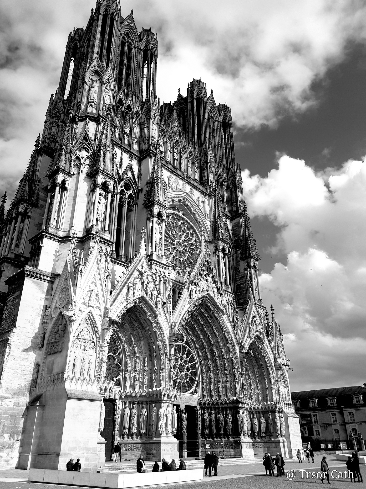 Cathédrale de Reims by trsor7