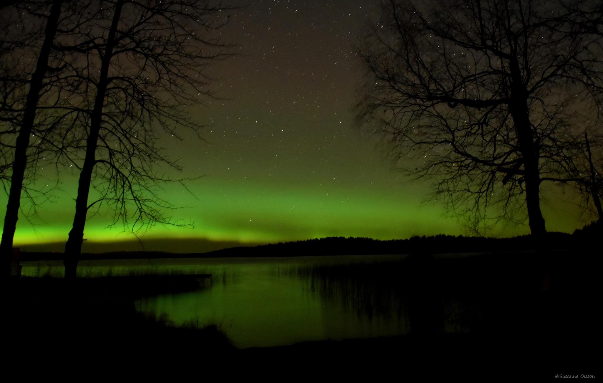Norrsken 29 oktober-16 II by Susanne Olsson