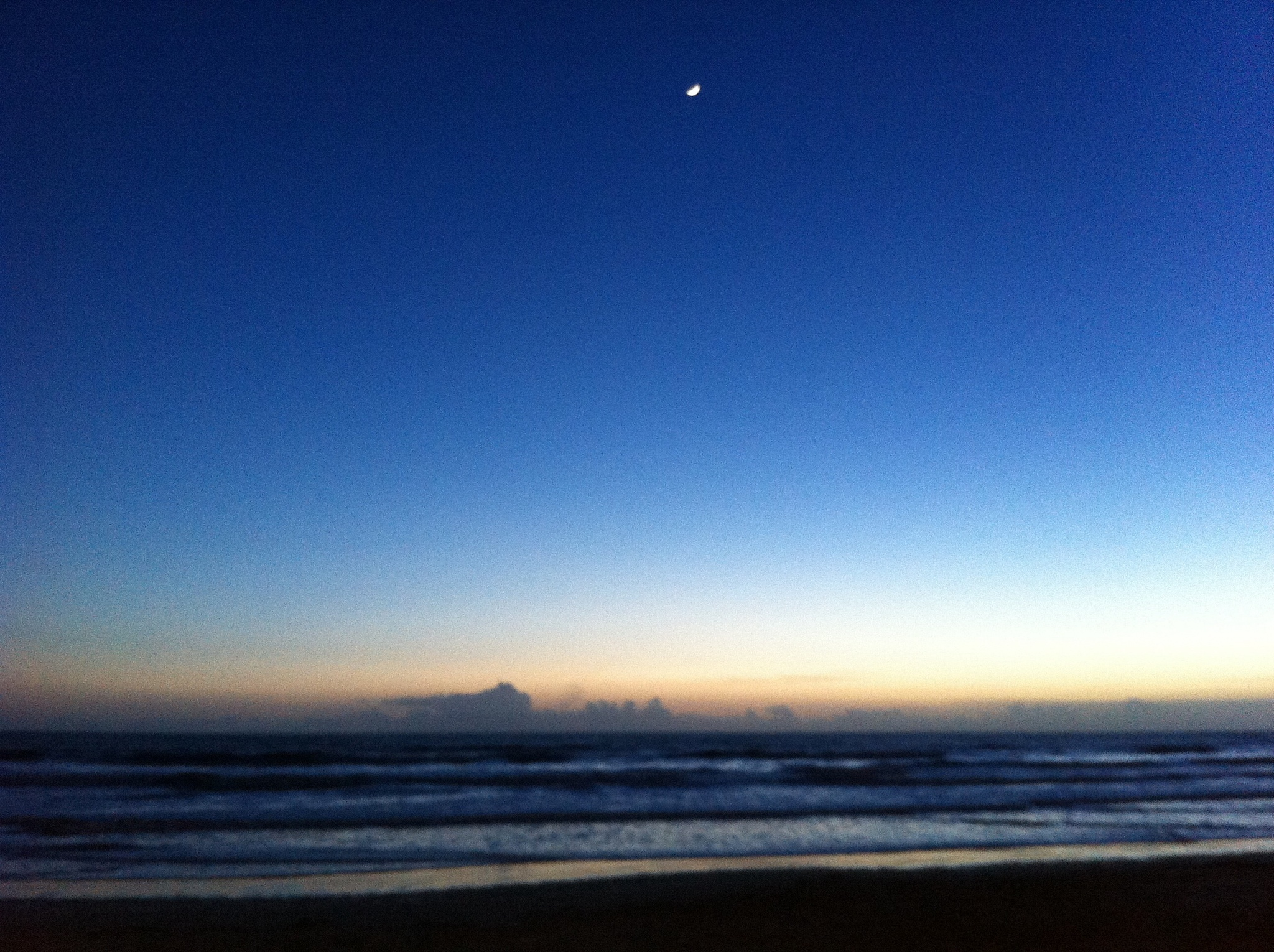 Blue sunset by lallemand