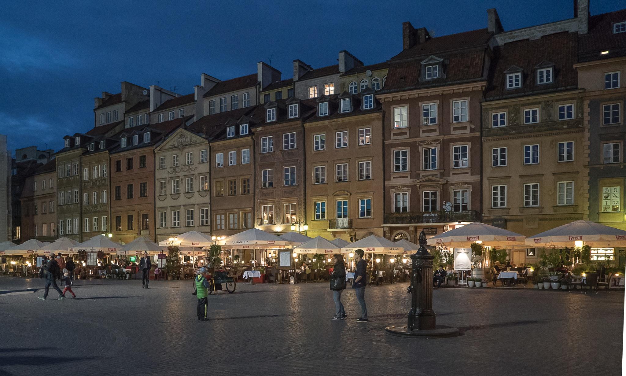 Warsaw - Old Town Square | Warszawa - Rynek Starego Miasta by Samar_WD
