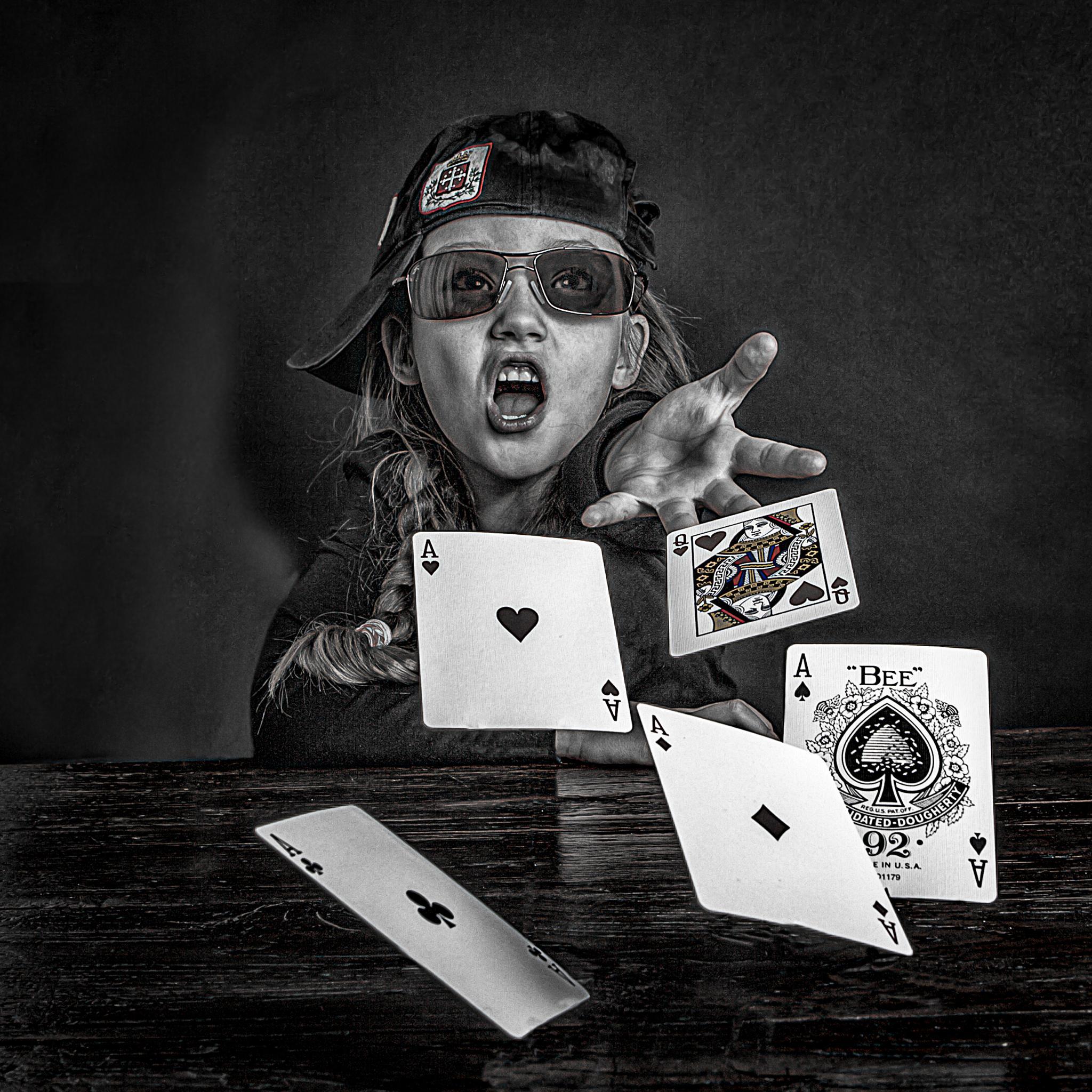 Poker Queen by Bas Pisa
