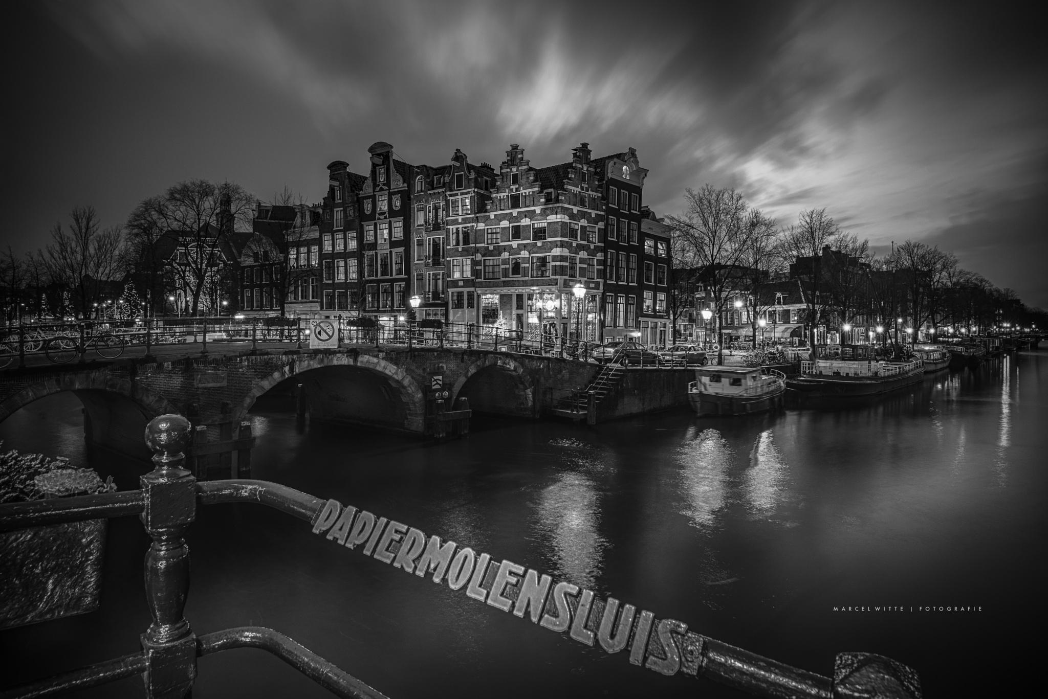 Papiermolensluis by Marcel Witte