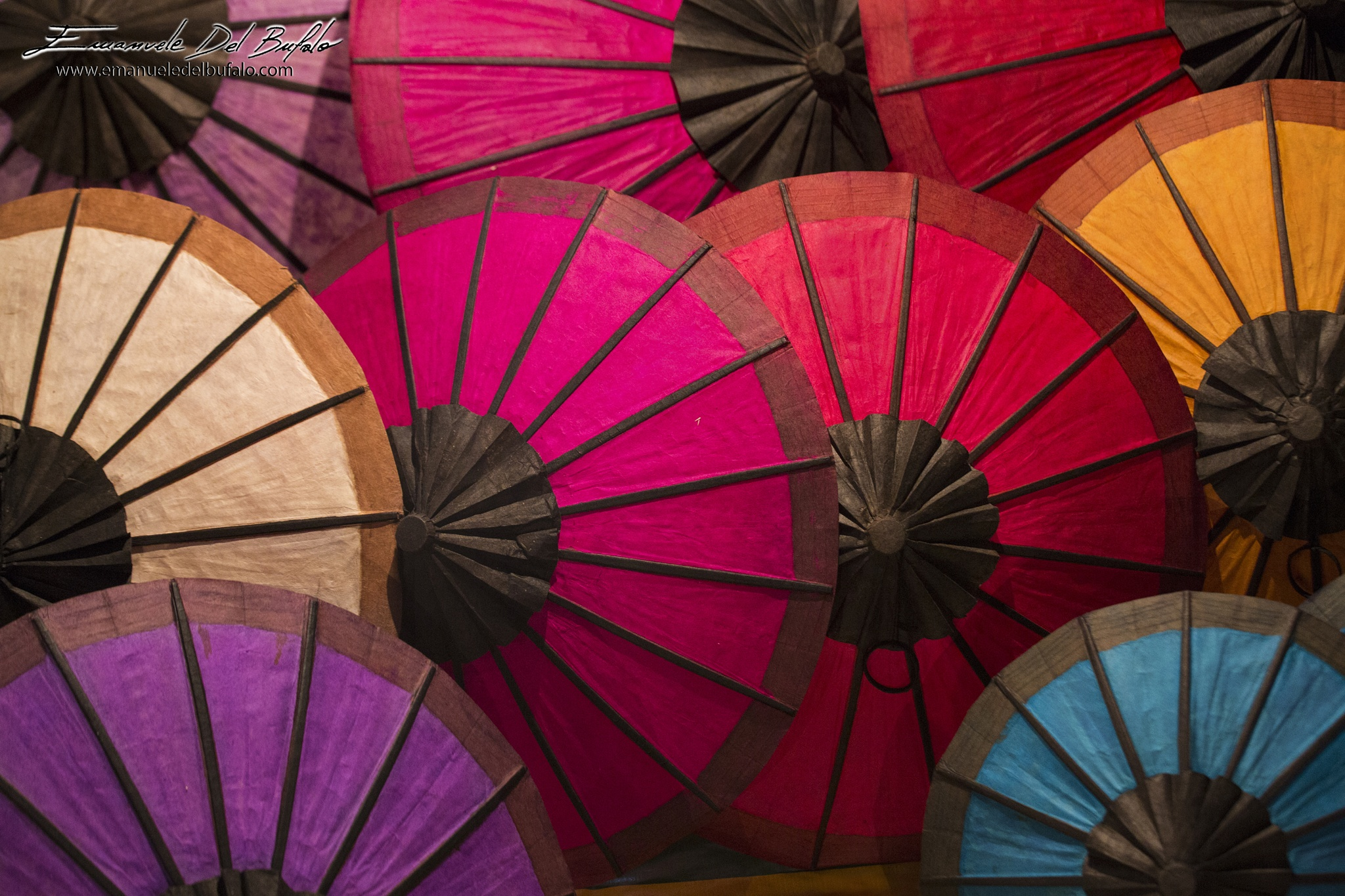 Rice-paper Umbrellas by The Long Term Traveler