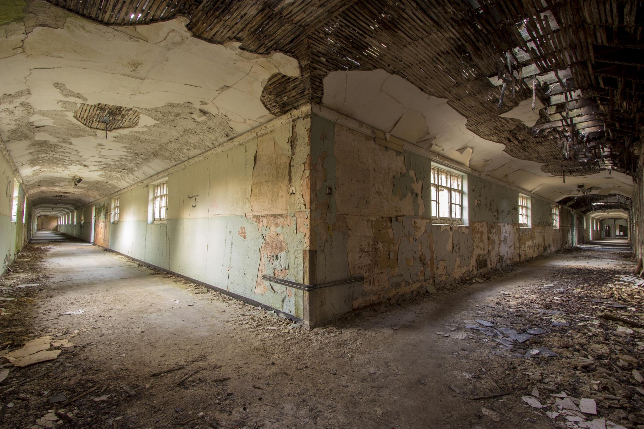 Decaying asylum  by Richie Gowen