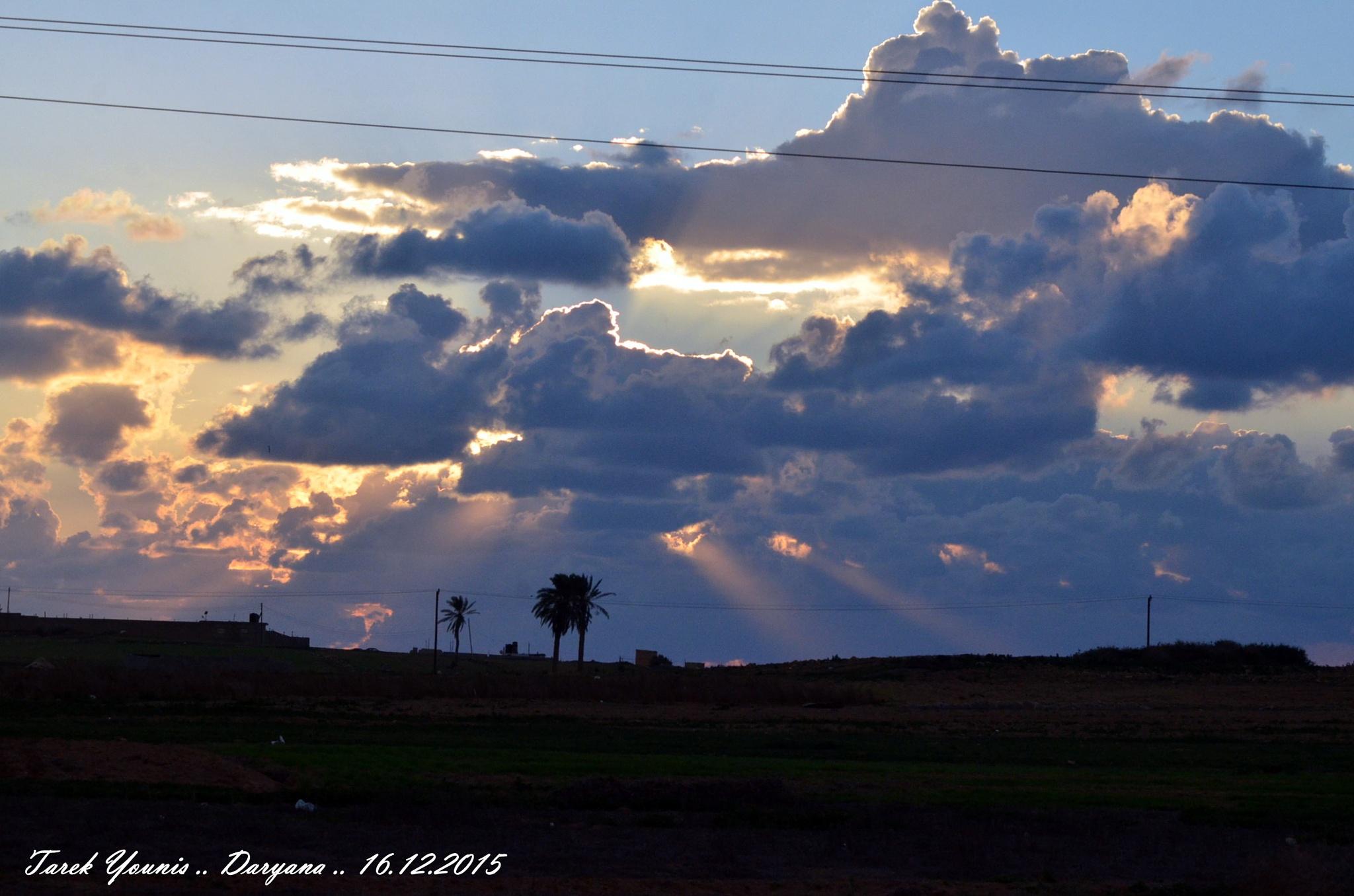 sunset  by Younis Tarek