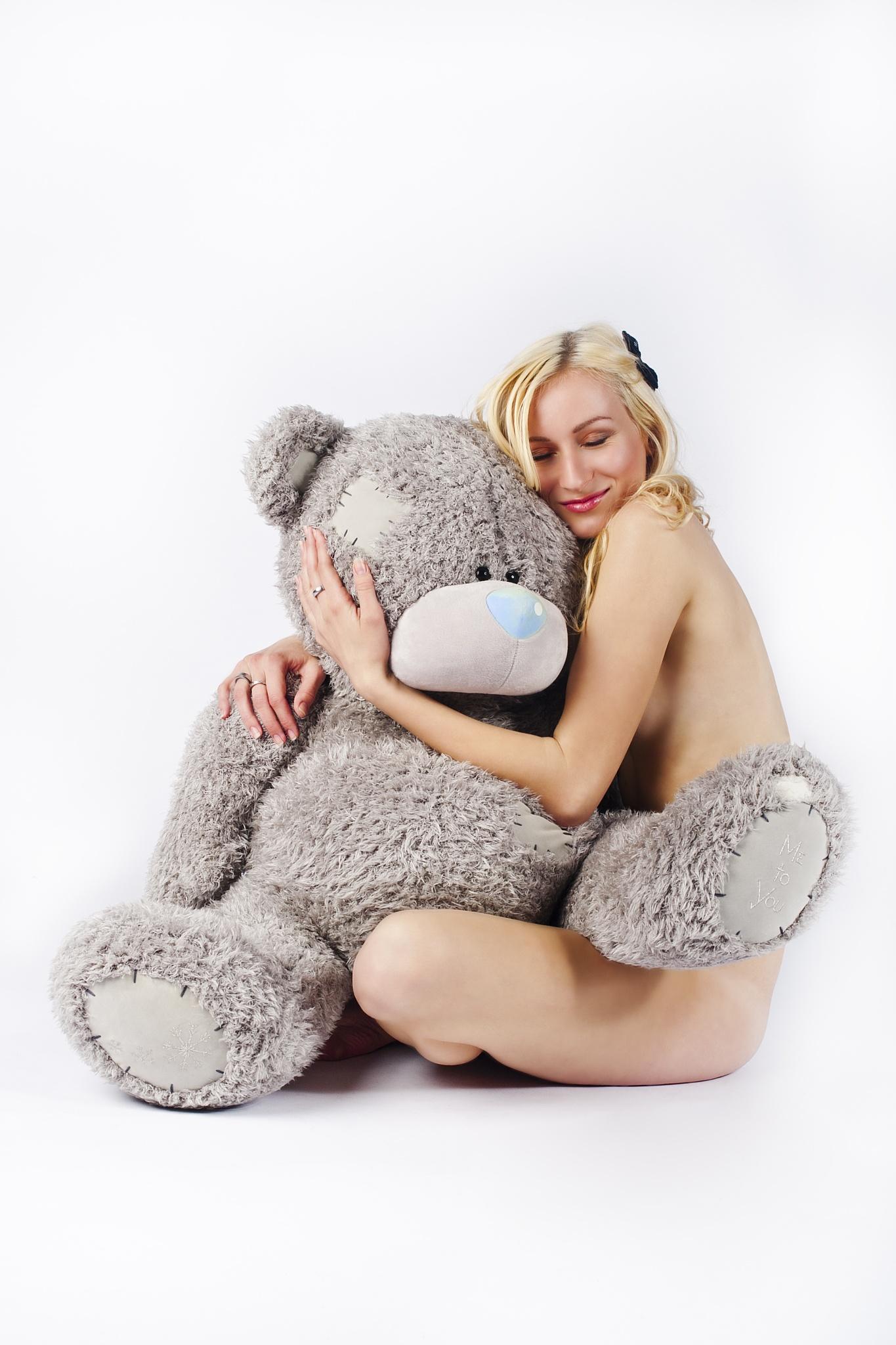 with bear by JanPetrasek