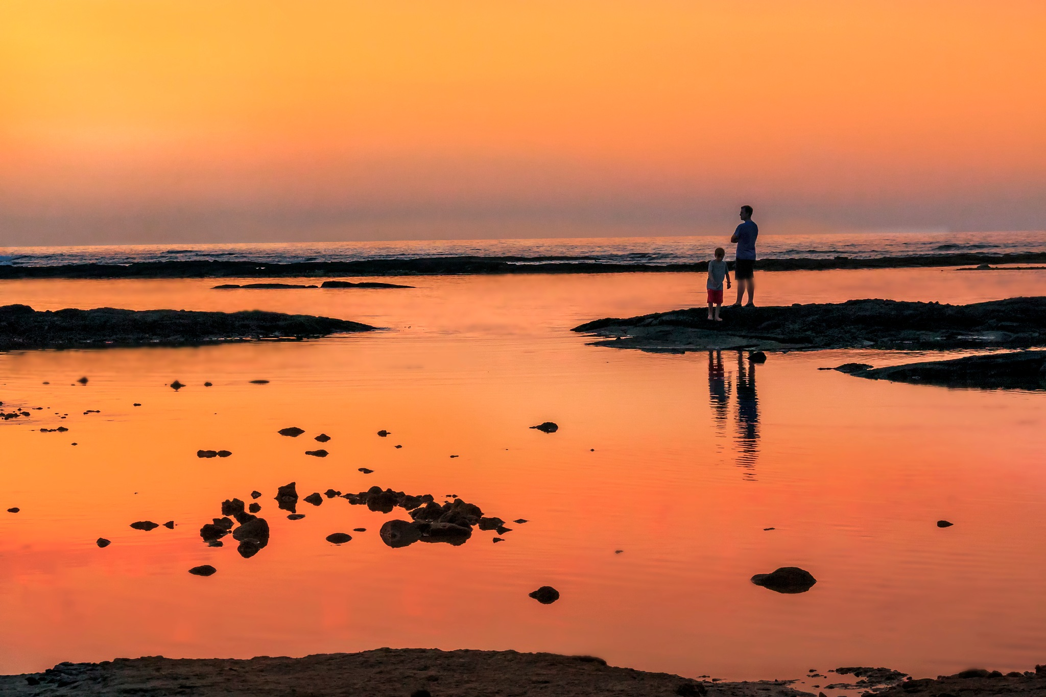sharing sunset by SterlingLanier