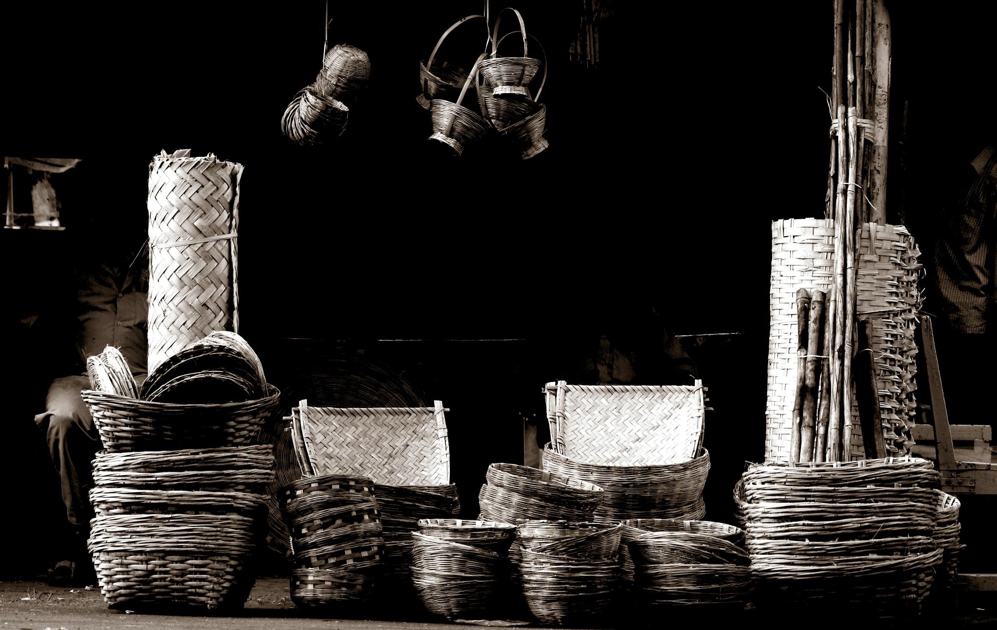 #bamboo world#monochrome by Prashik Waghmare