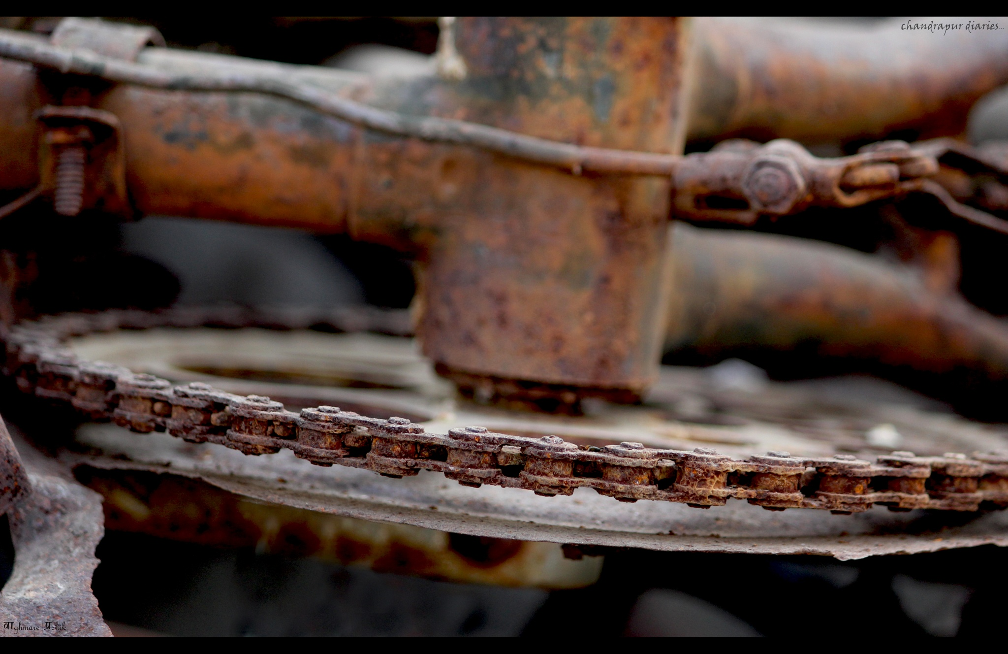 #rust#cycle#untold story by Prashik Waghmare