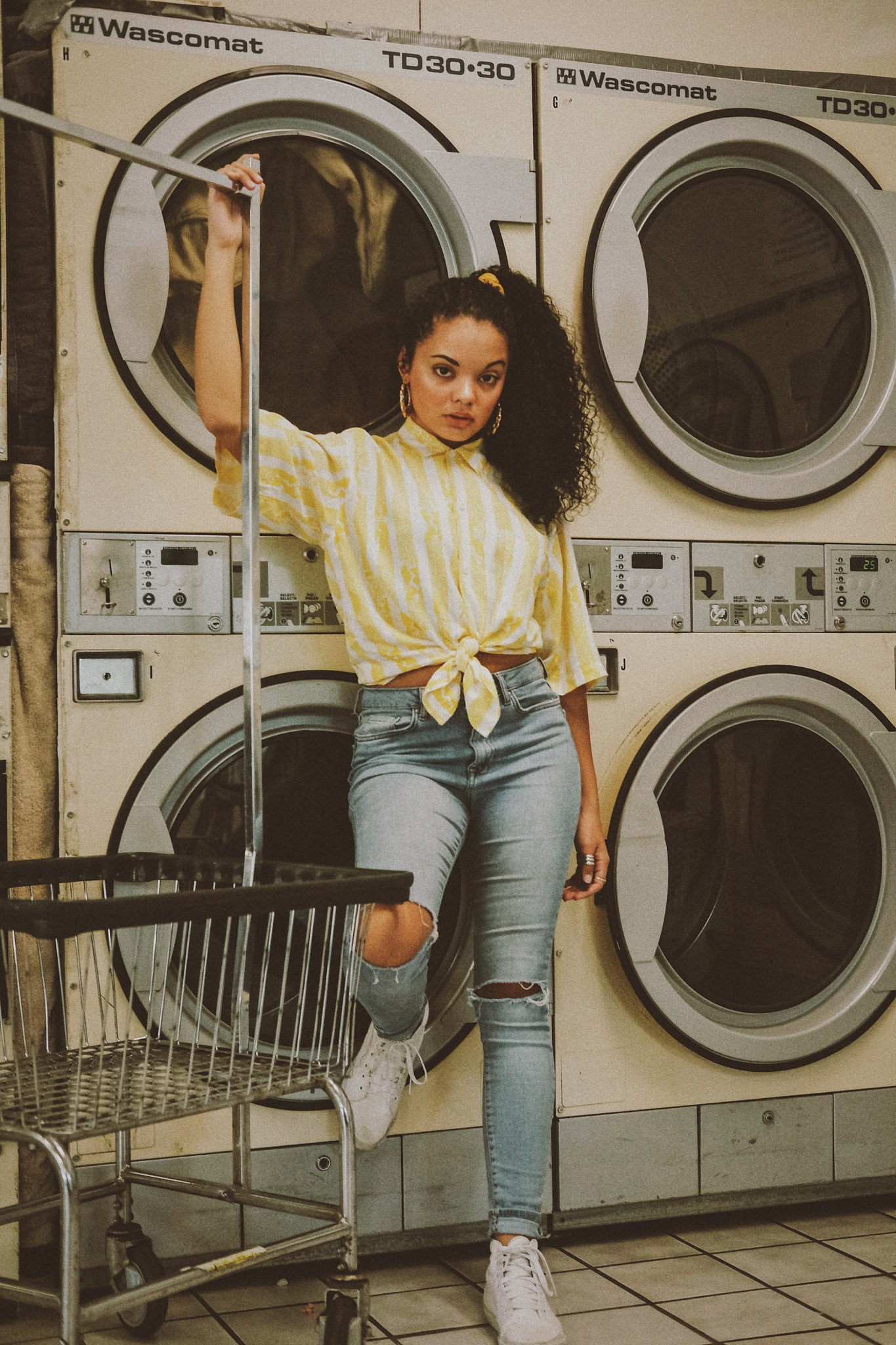 Laundromat bliss 2 by Swan Lake Photography