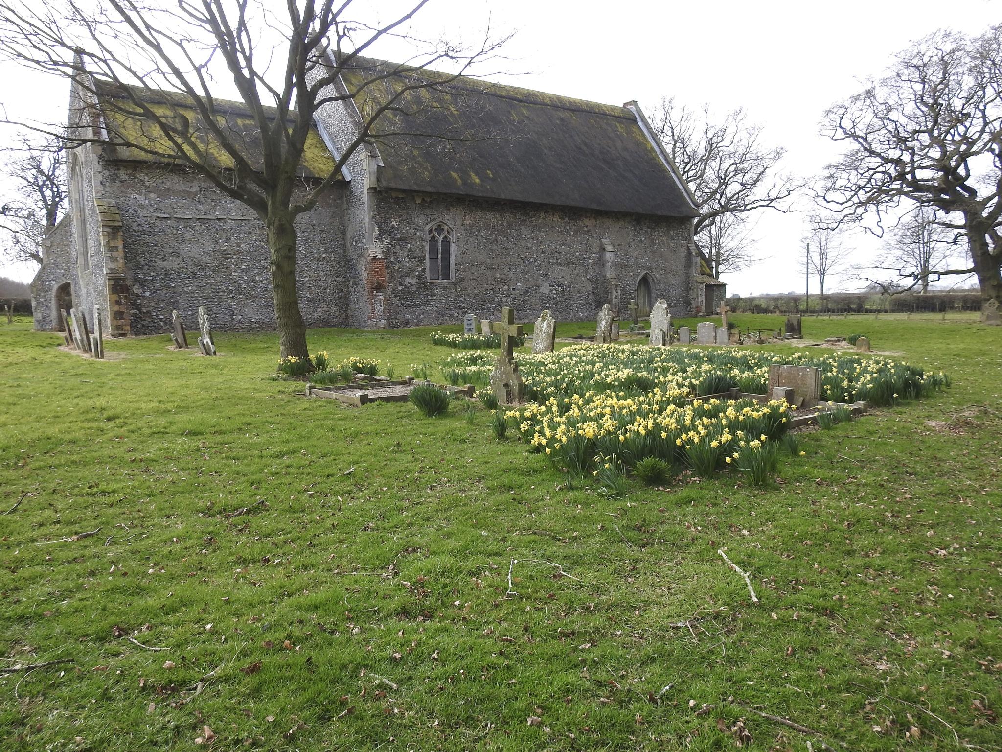 St Bartholomew Church,  Hanworth village, Norfolk by Marisa