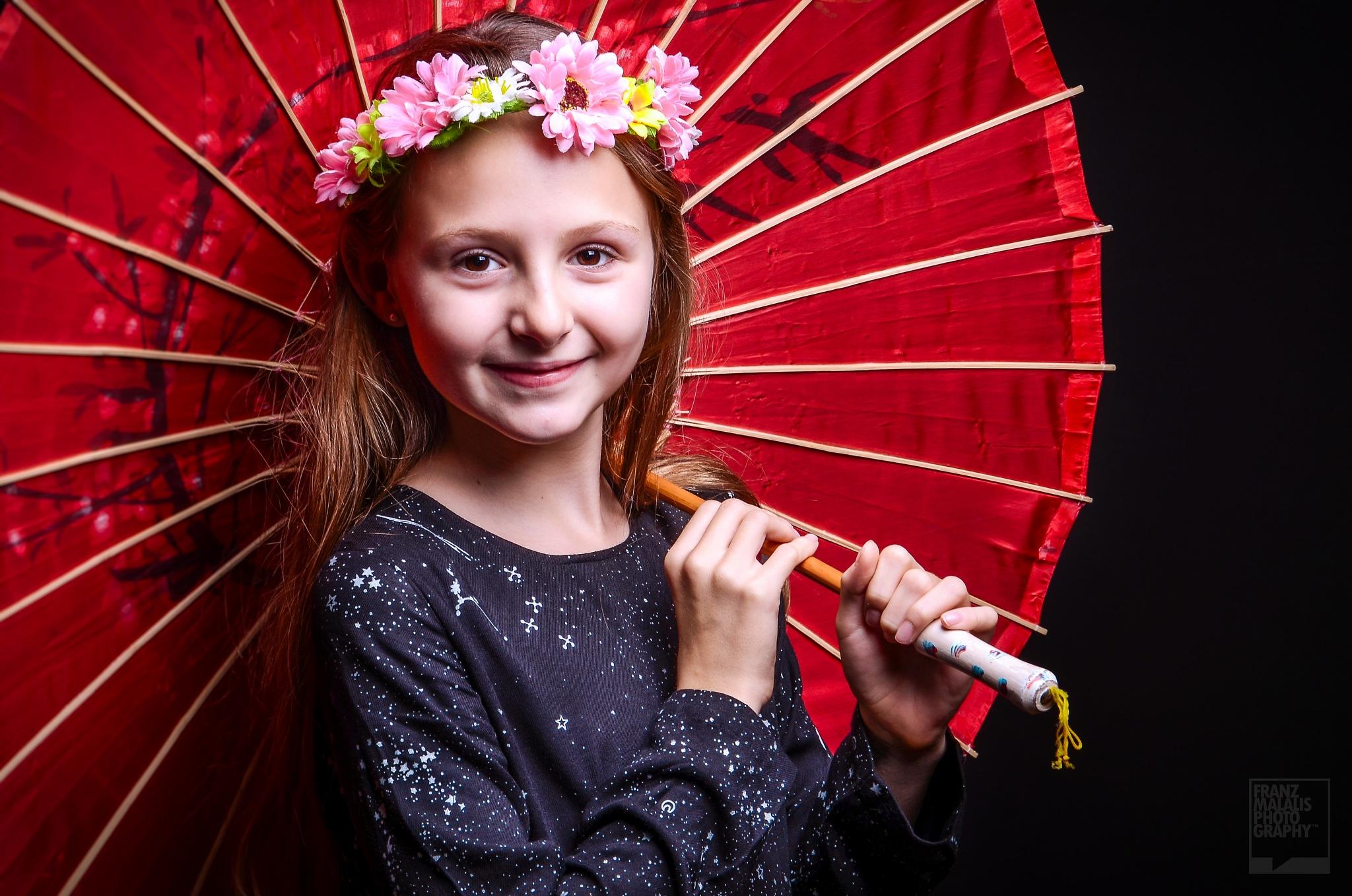 Fairy In Red Umbrella by MurdockFotografo