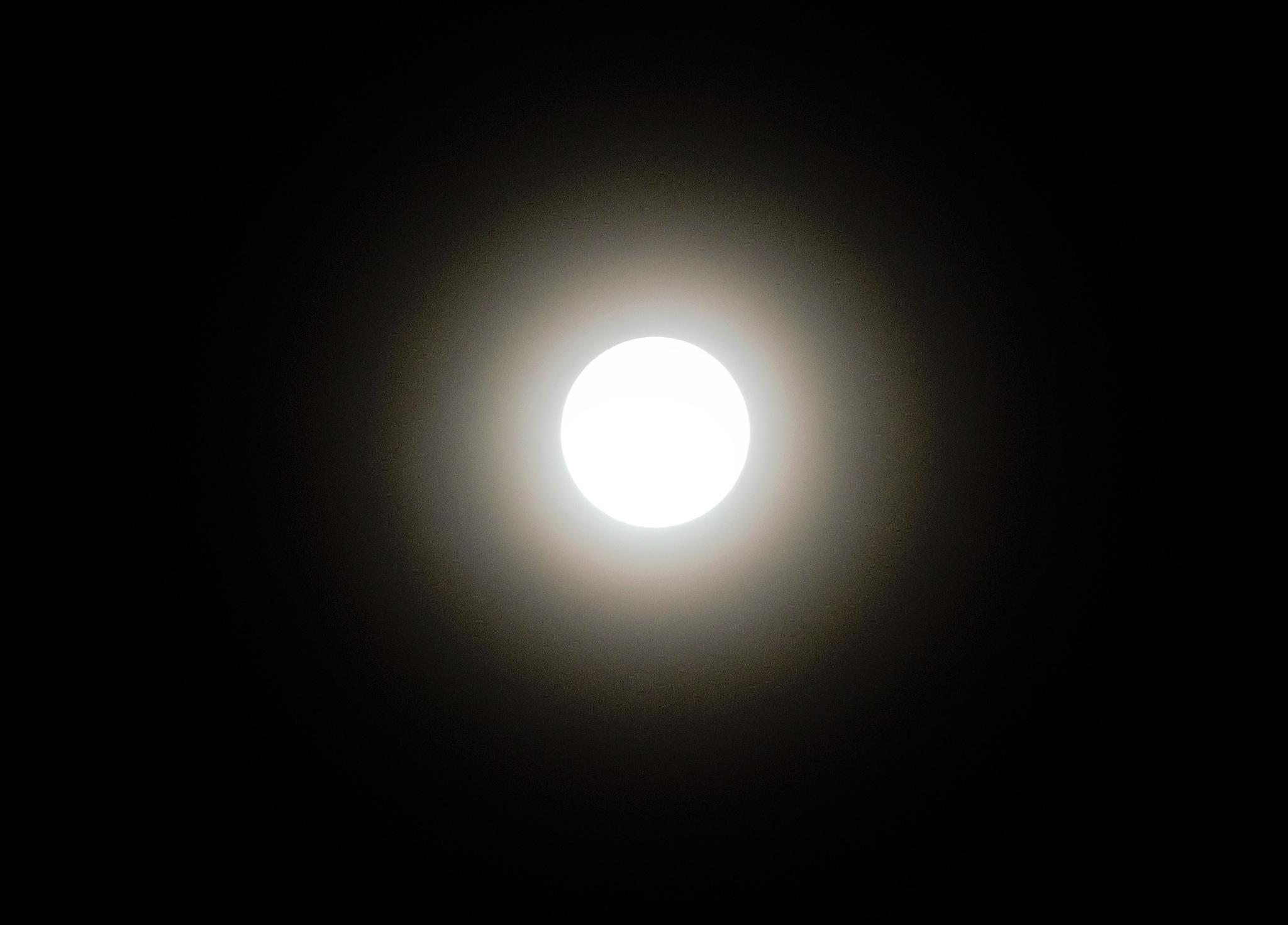 Full Moon by PallabBhattacharjee