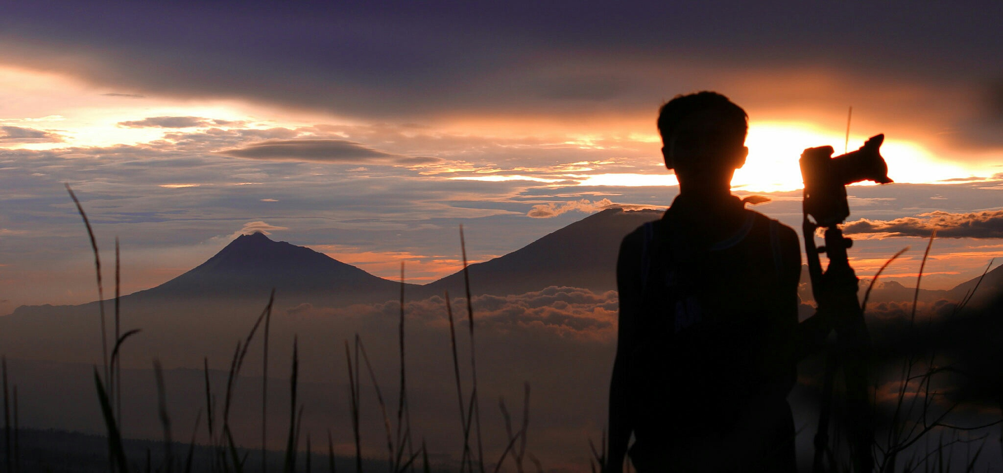 Photo in Landscape #indonesia #panorama #siluet