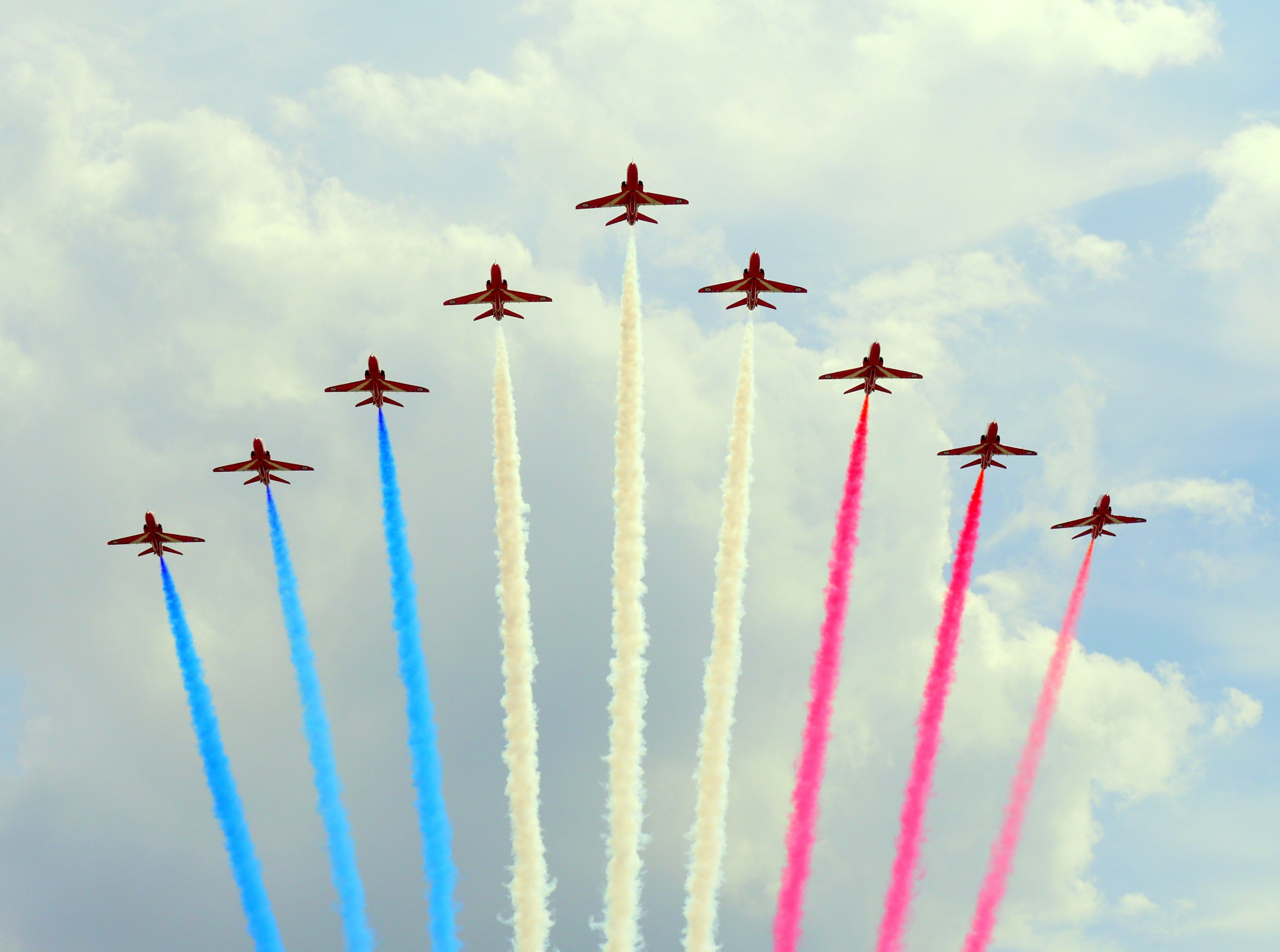 The Red Arrows by Seymour White