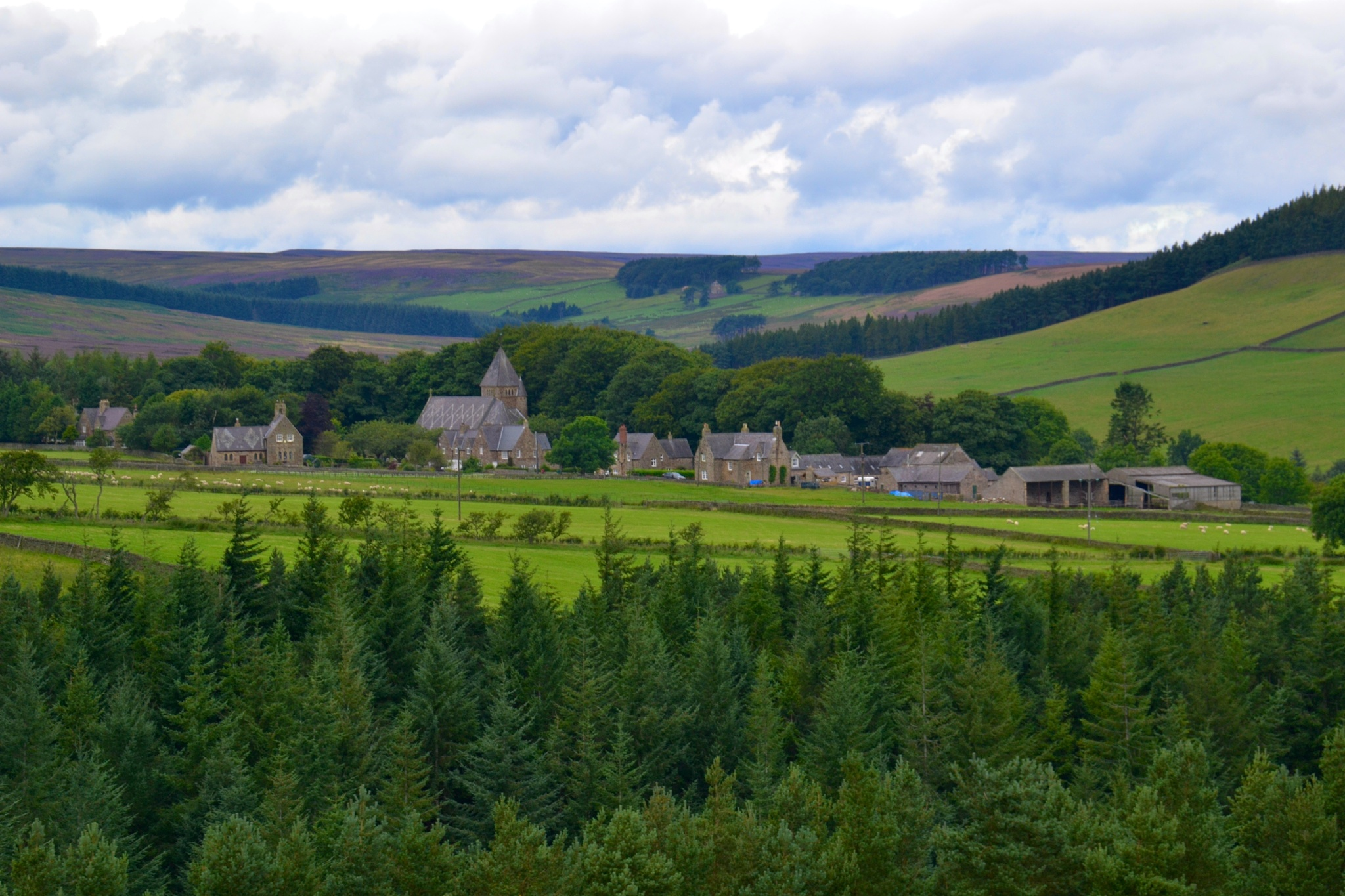 Village scene by AlanWilliams