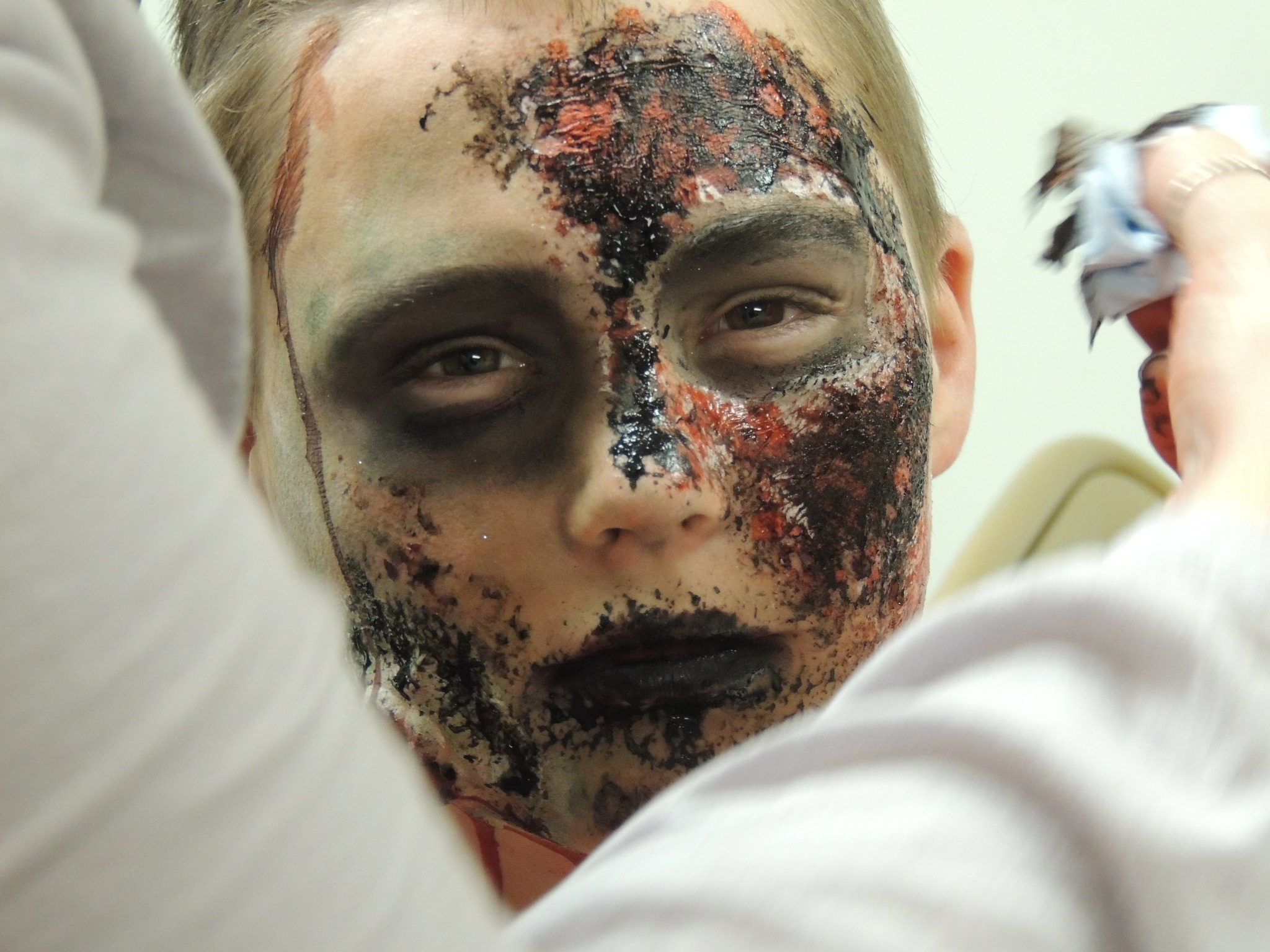 Haunted house makeup by Shadow456