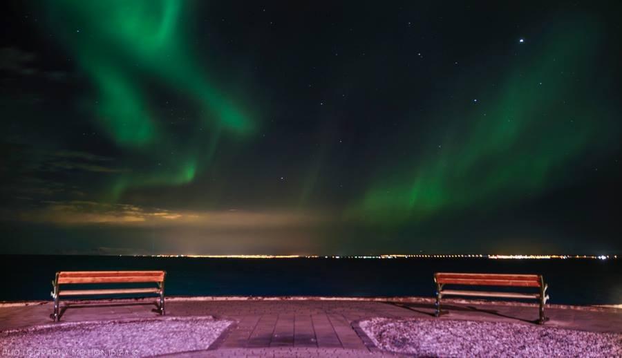 Northern lights by David Holderbach