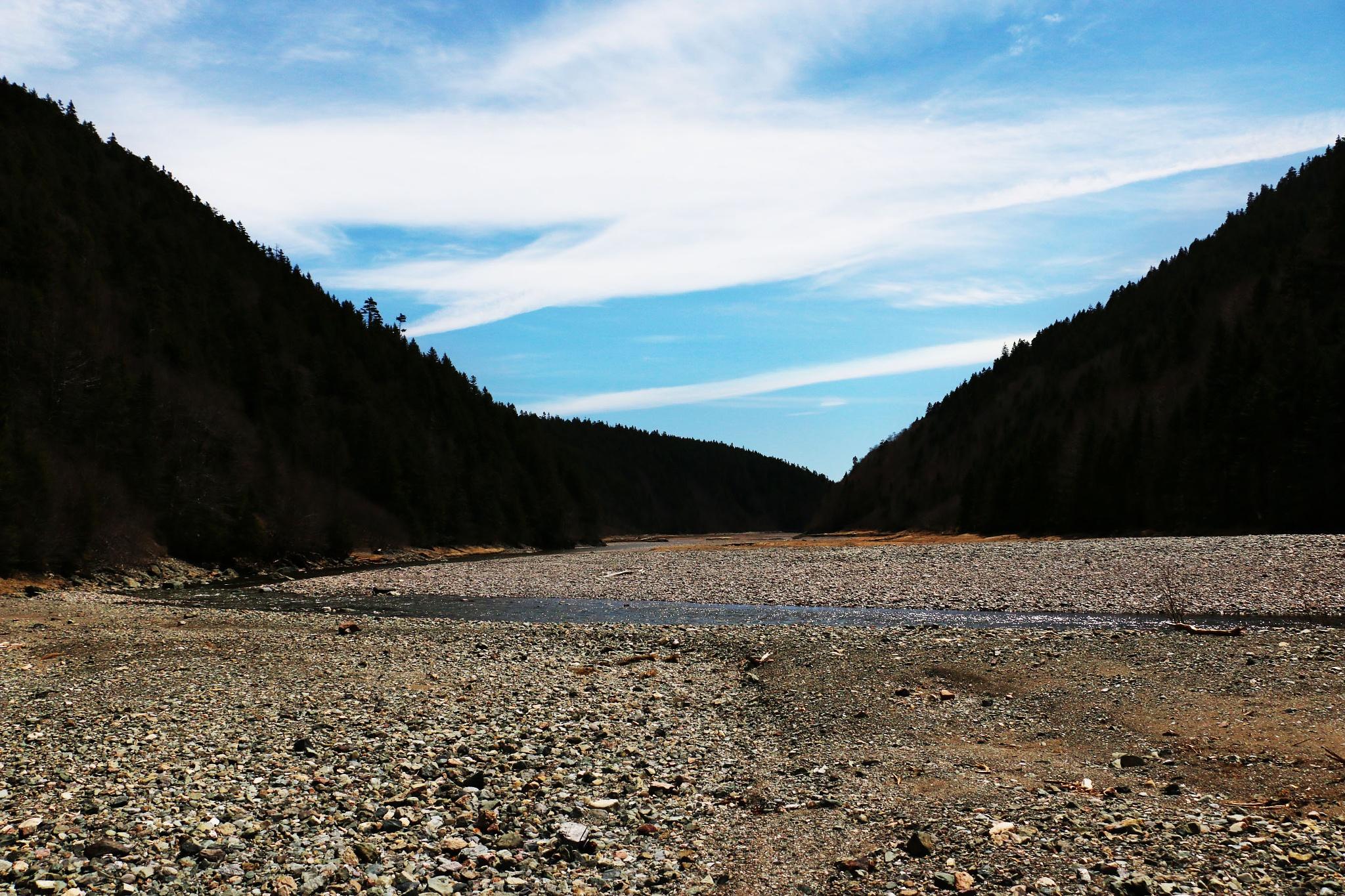 Photo in Landscape #river #landscape #salmon #bay of fundy #spring #hike #rocks #unique