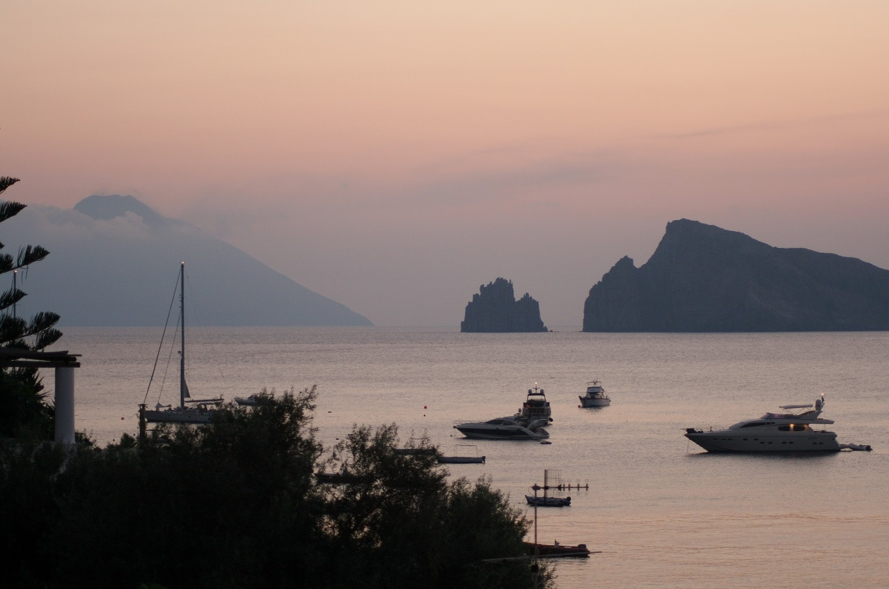 Sunrising in the island by Giovanna Pagliai