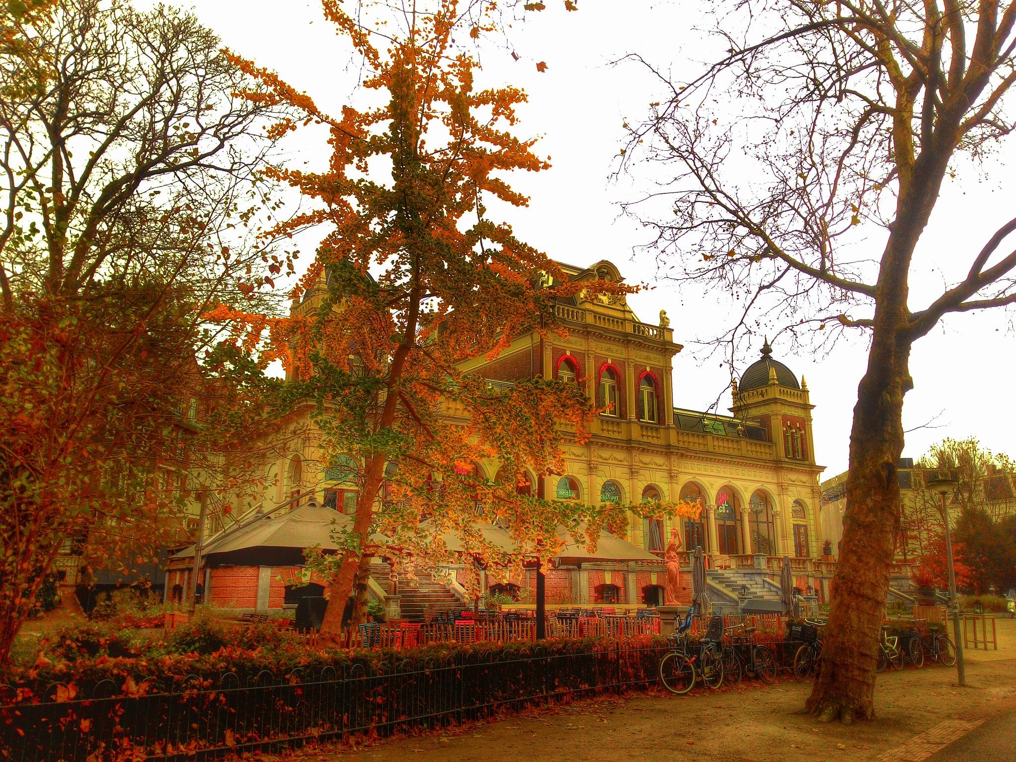 Filmmuseum @Vondelpark by vinzarka