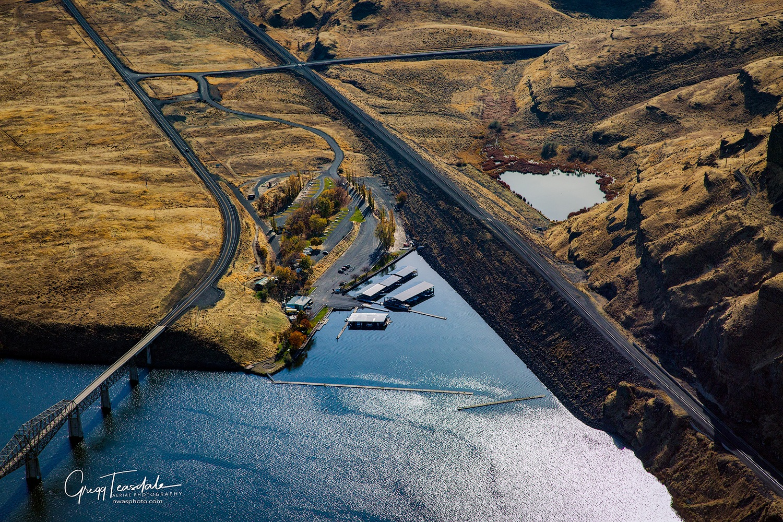 Lyons Ferry Marina by Gregg Teasdale
