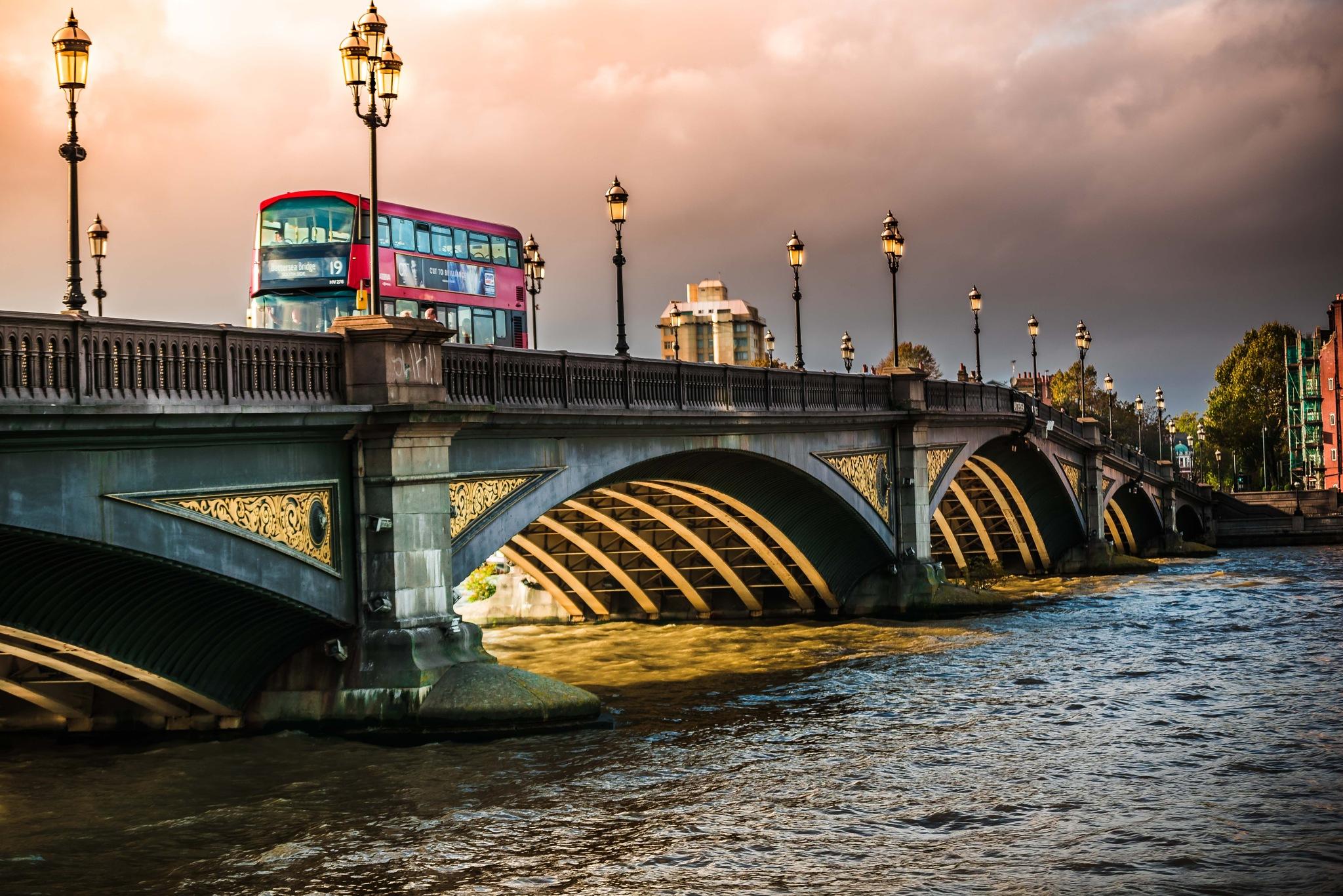 Battersea Bridge Road by lingwhang