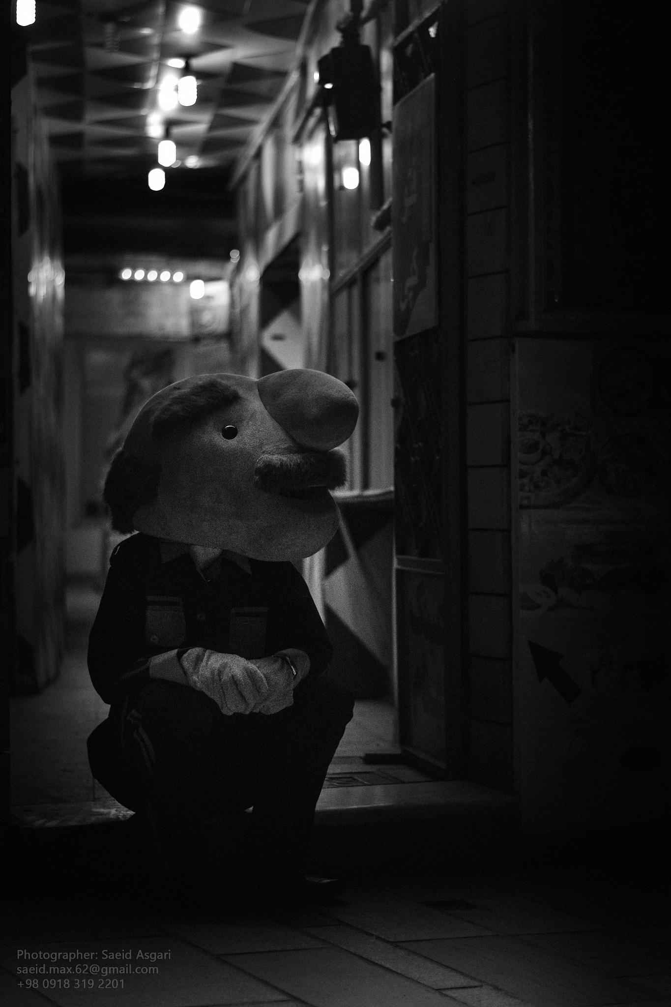 Alone Man ... by Saeid_Asgari
