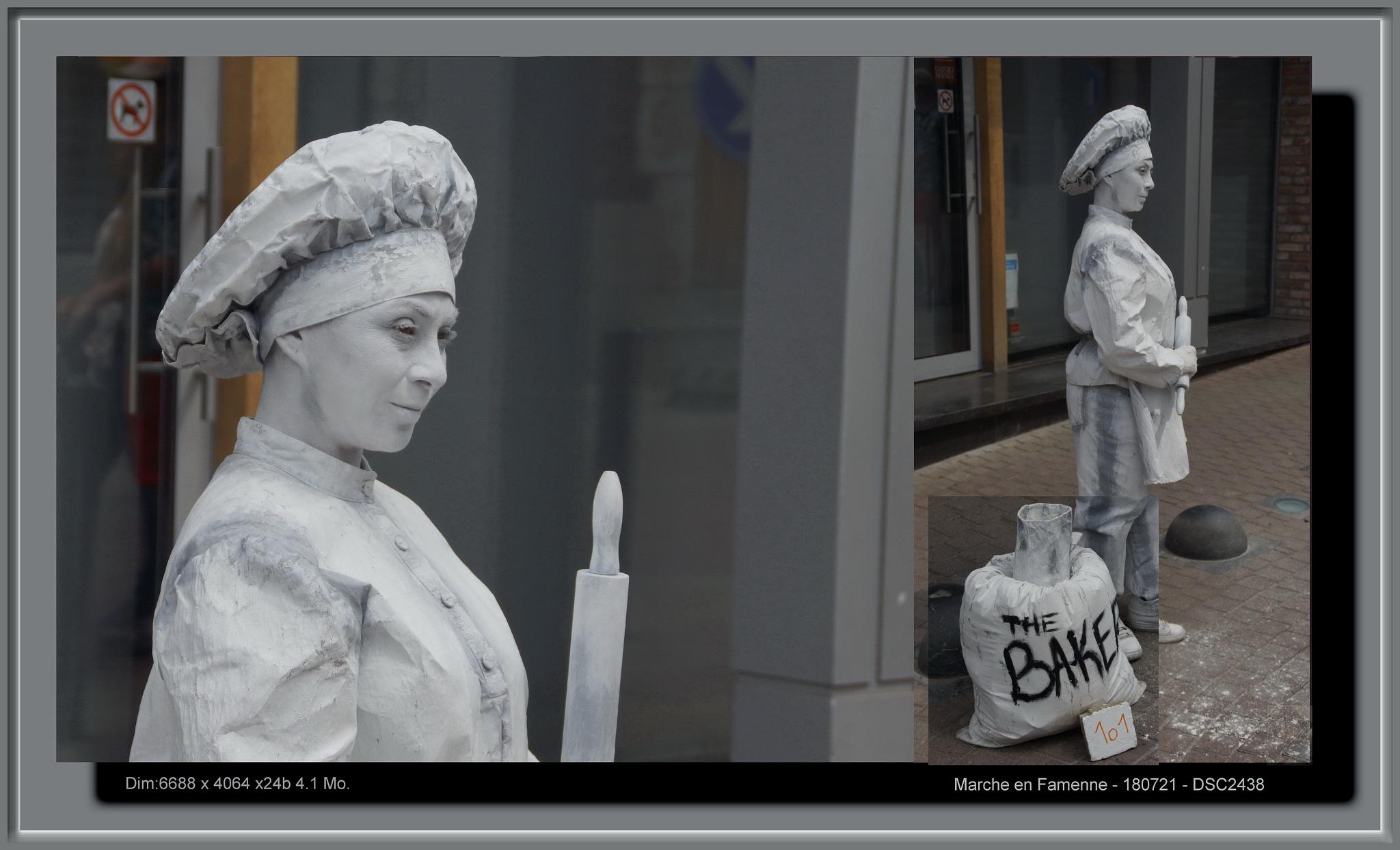 Les statues en Marche  by Boyer Olivier Pascal Louis