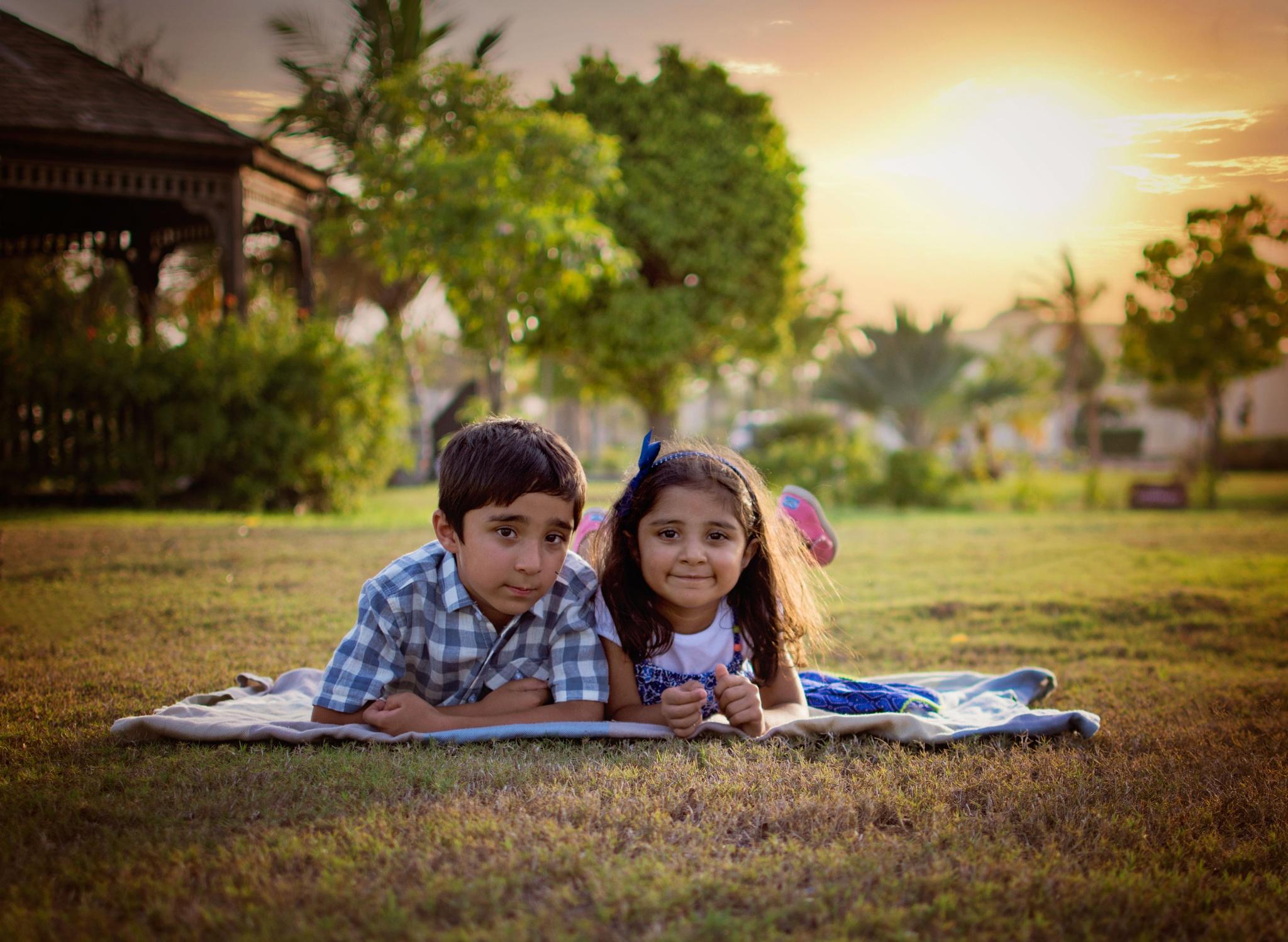 Brother & sister by Aymen Felfel