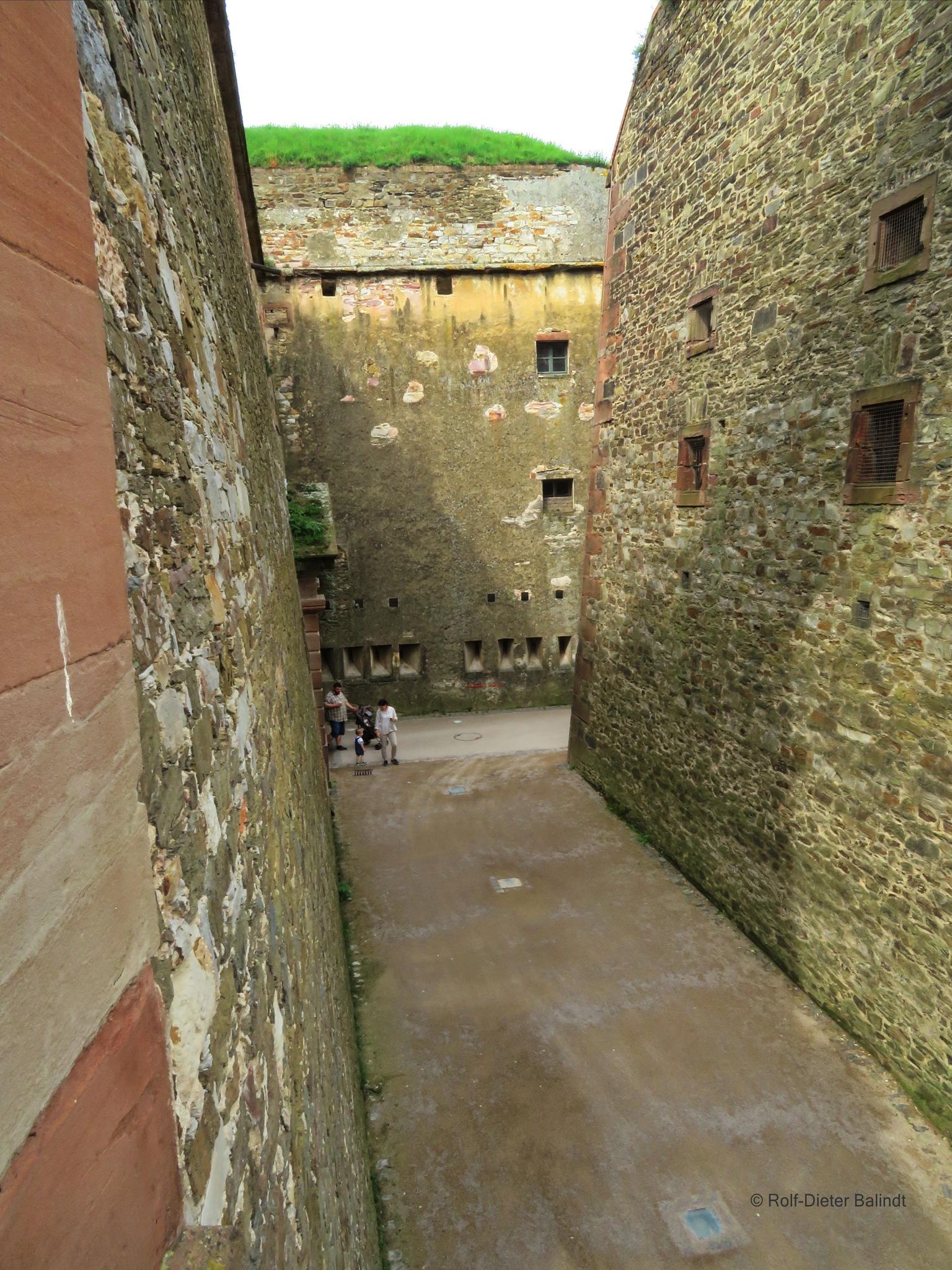 Festung Ehrenbreitstein by Rolf-Dieter Balindt