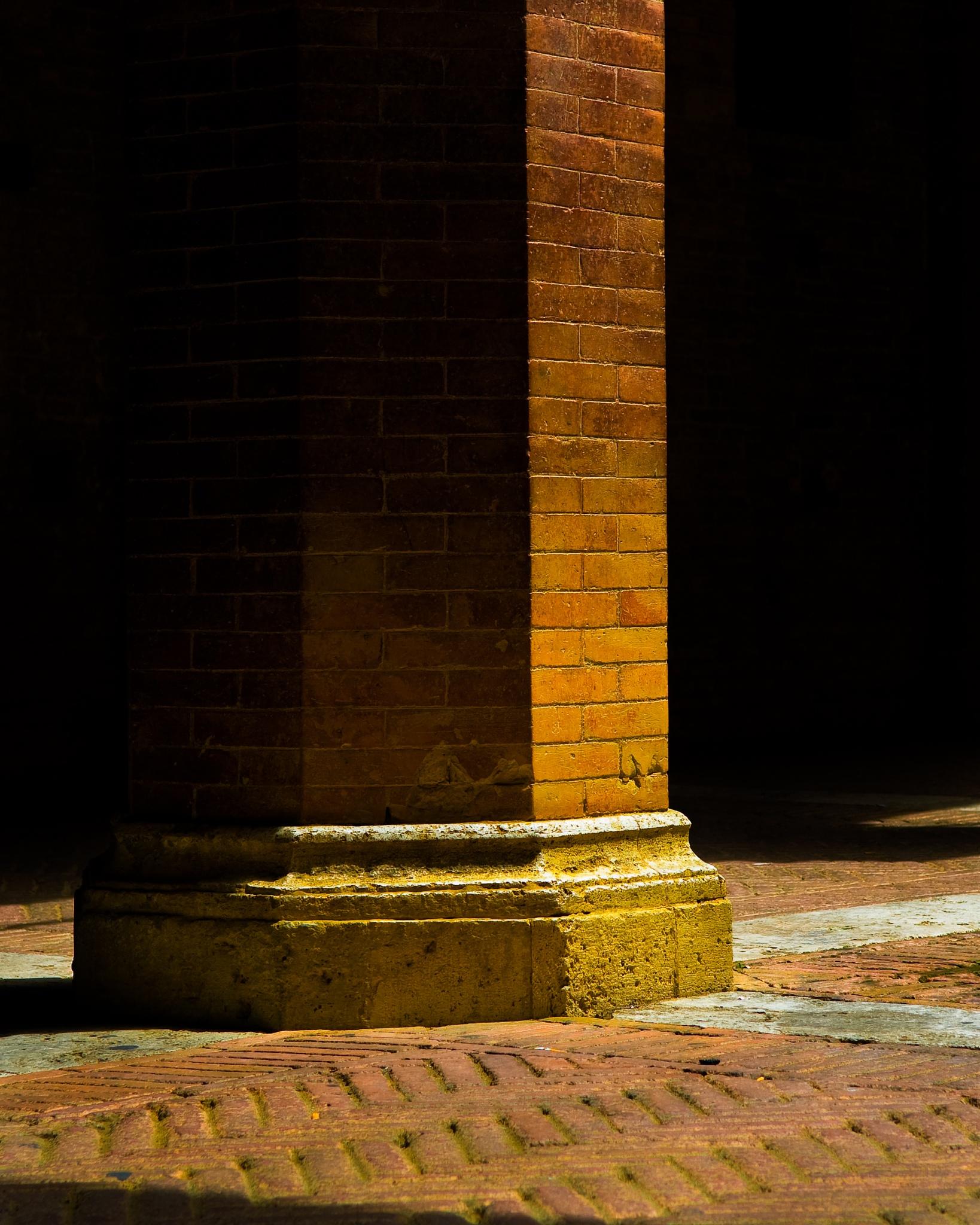 Stone Pillar by Eric Kazmirek